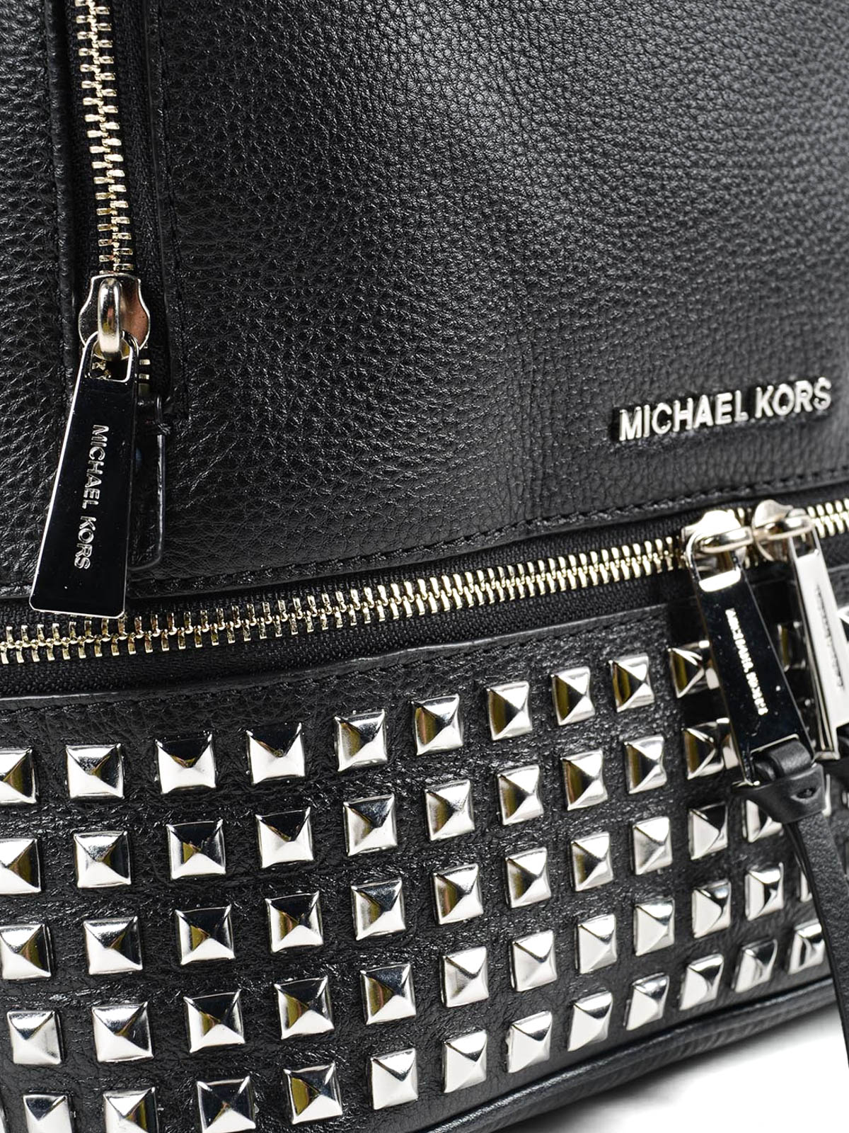 55939c7506f7 wholesale michael kors extra small studded backpack 0add7 34f6c; get rhea small  studded leather backpack shop online michael kors 9460a 1463e