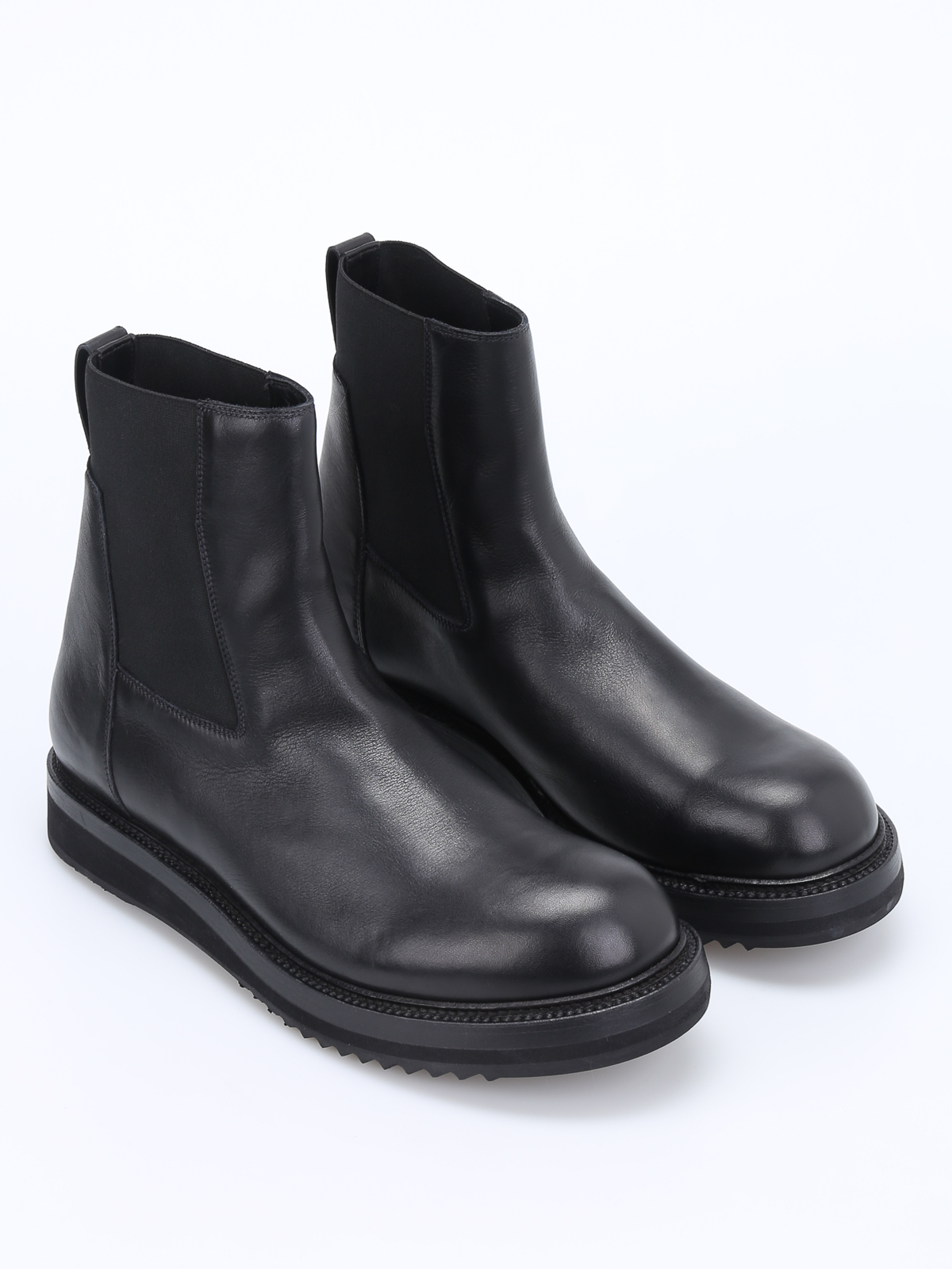 Rick OwensLeather Ankle Boots RbUgoFe5
