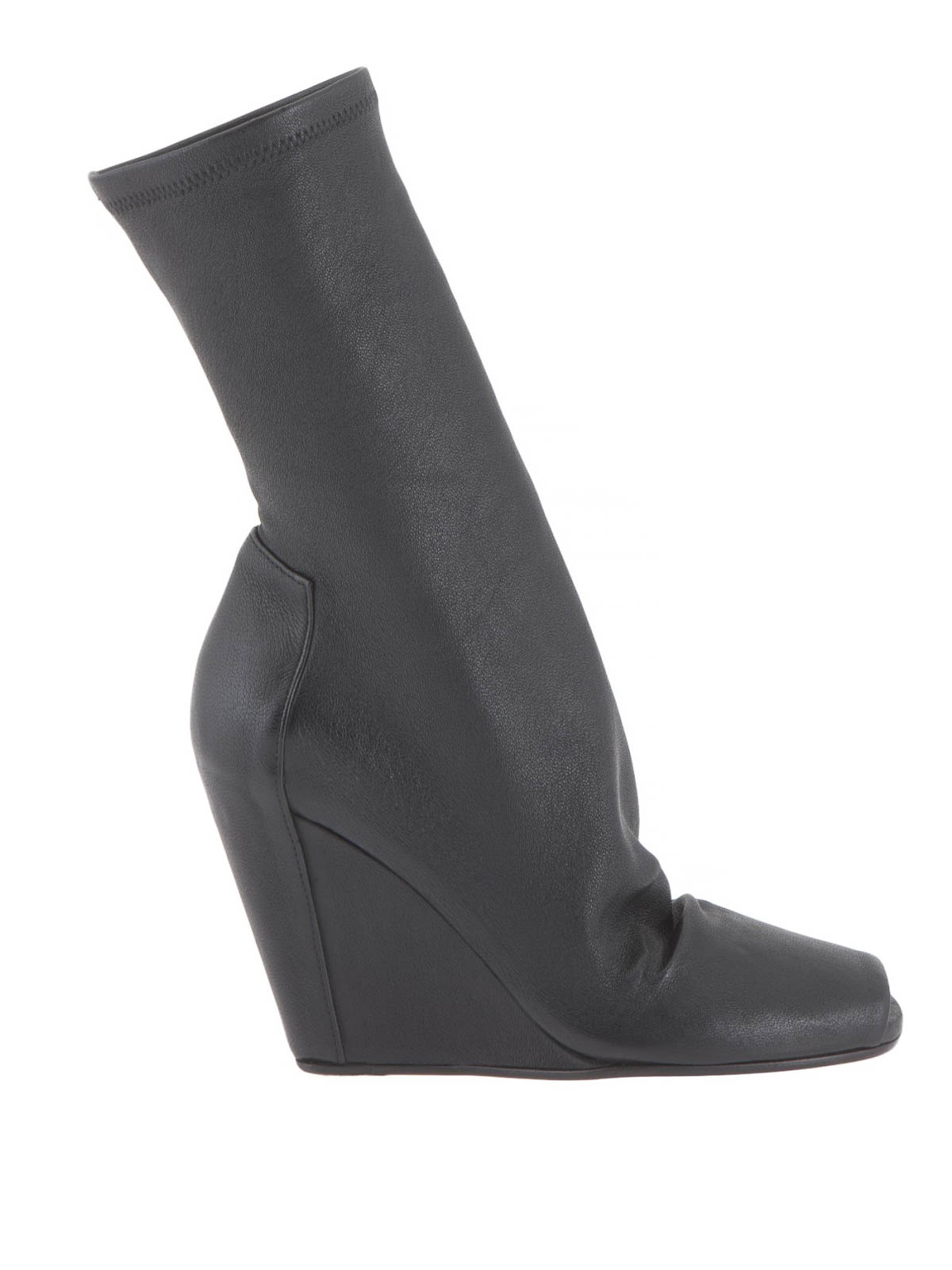 open toe wedge boots by rick owens ankle boots ikrix