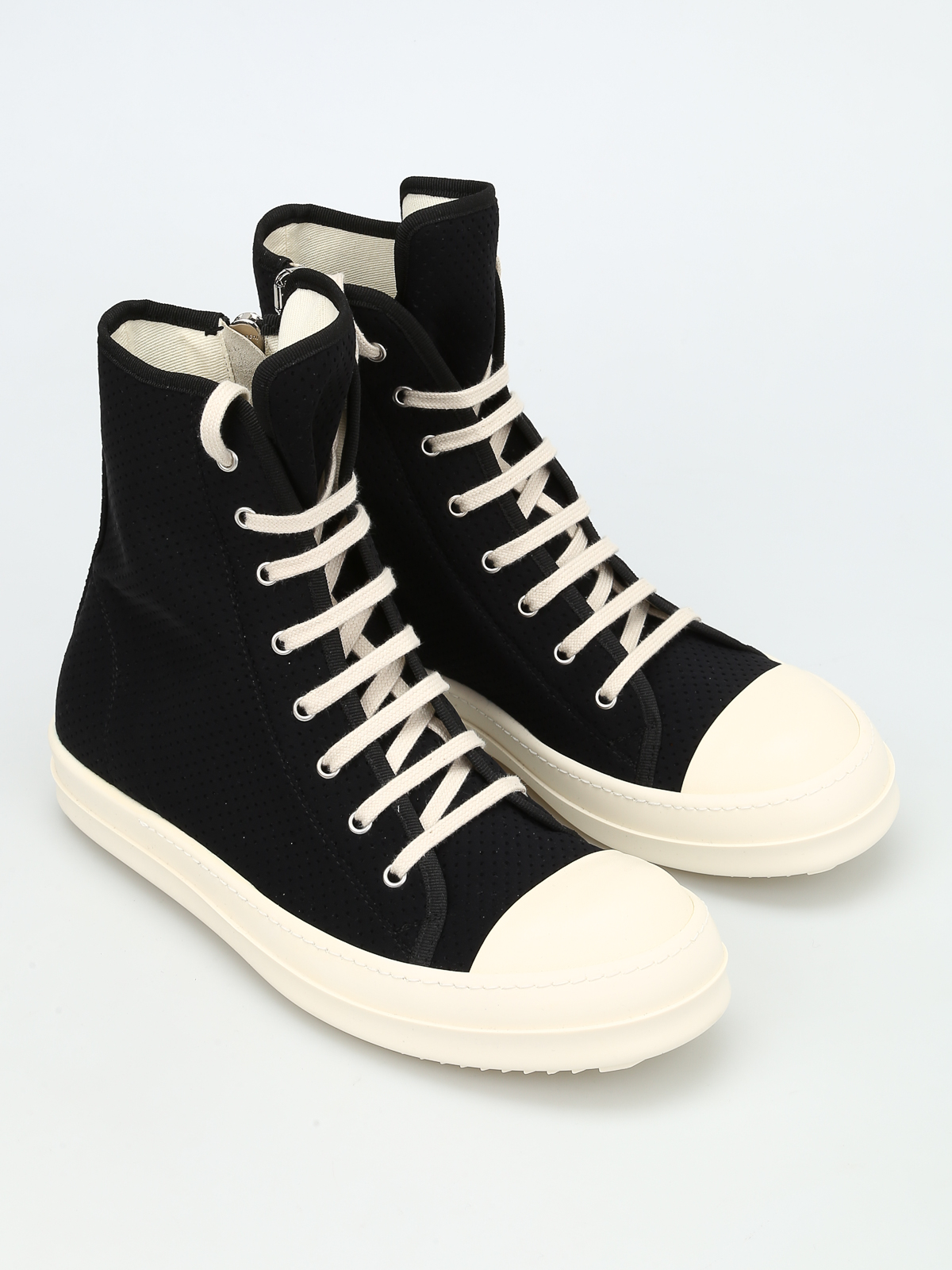 Rick Owens DRKSHDW canvas sneakers free shipping pay with visa Vfk7Mzj92