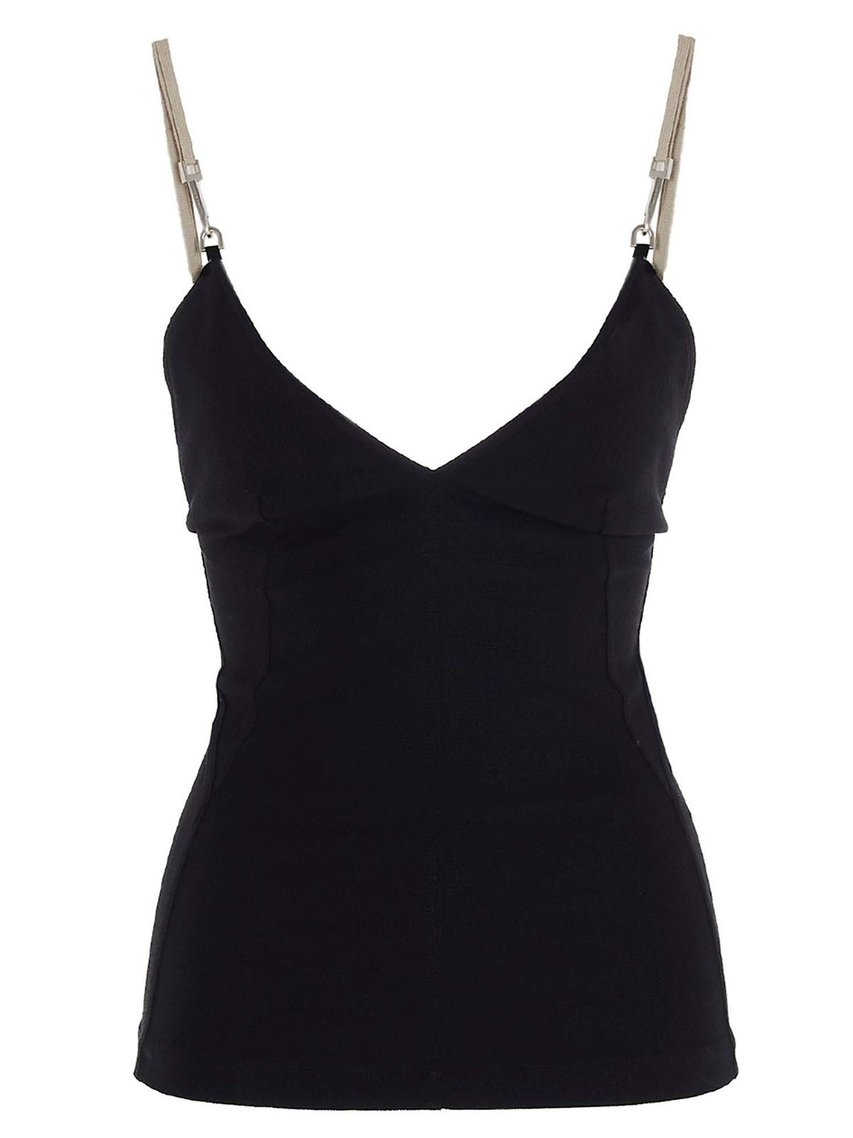 Rick Owens TOP MAILLOT IN BLACK