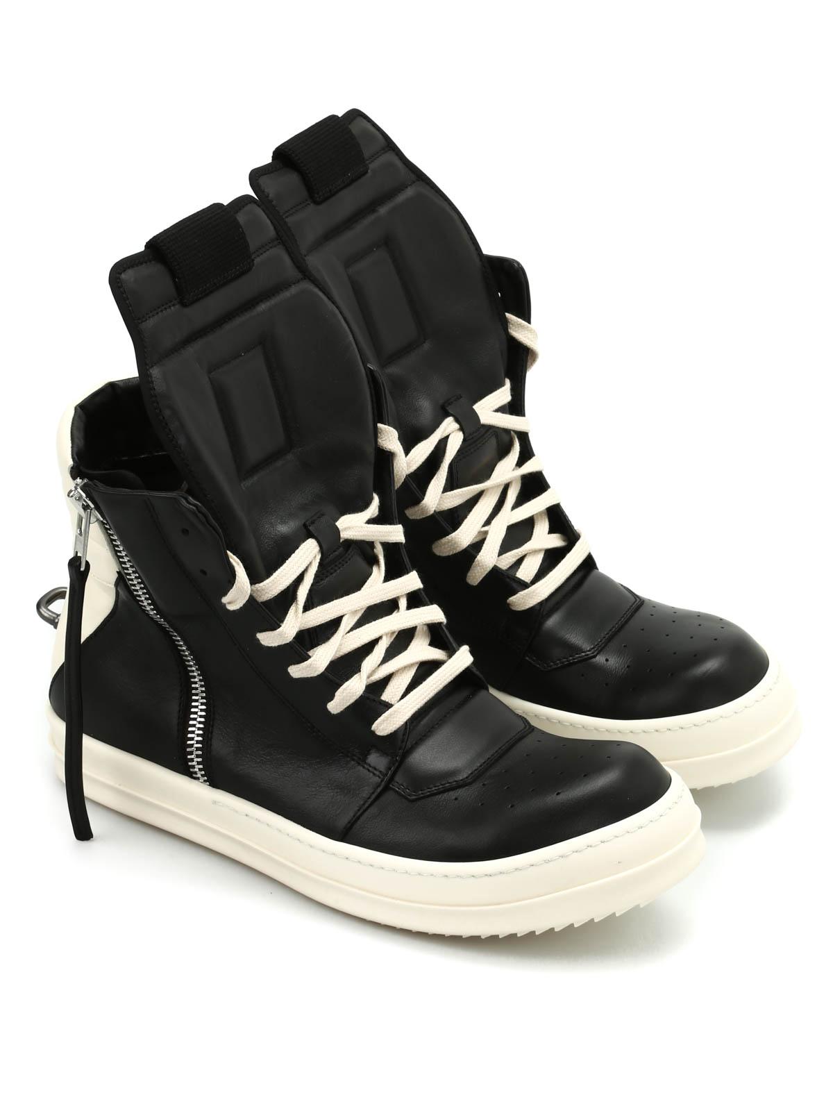 geobasket sneakers by rick owens trainers ikrix. Black Bedroom Furniture Sets. Home Design Ideas