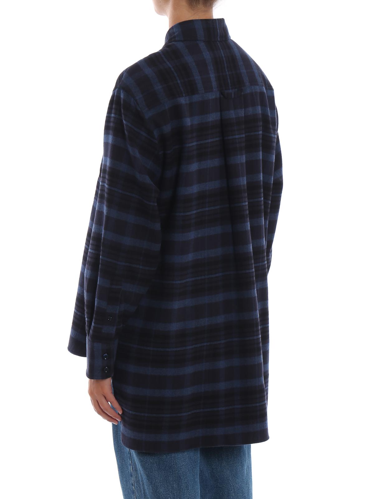 Ripa tartan cotton flannel shirt