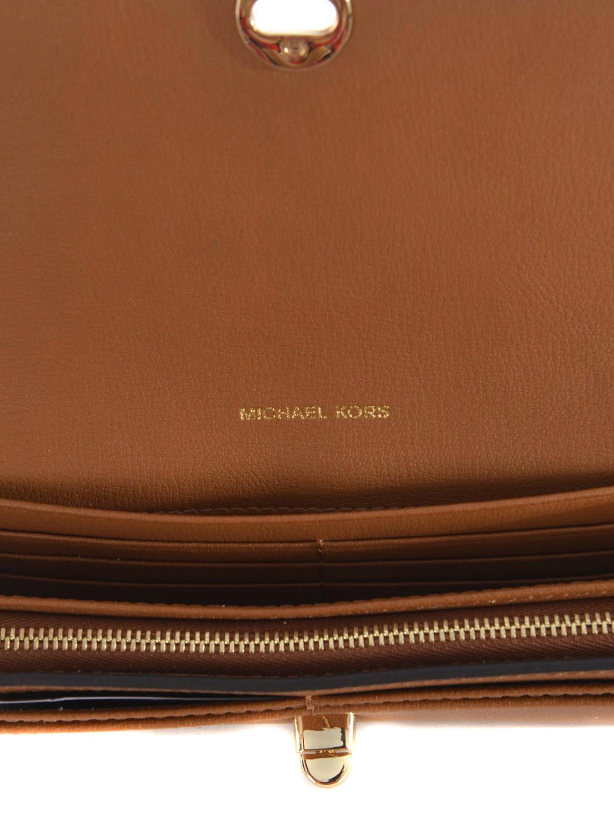 72ae8ea8d14f Michael Kors - Rivington Stud leather flap wallet - wallets & purses ...