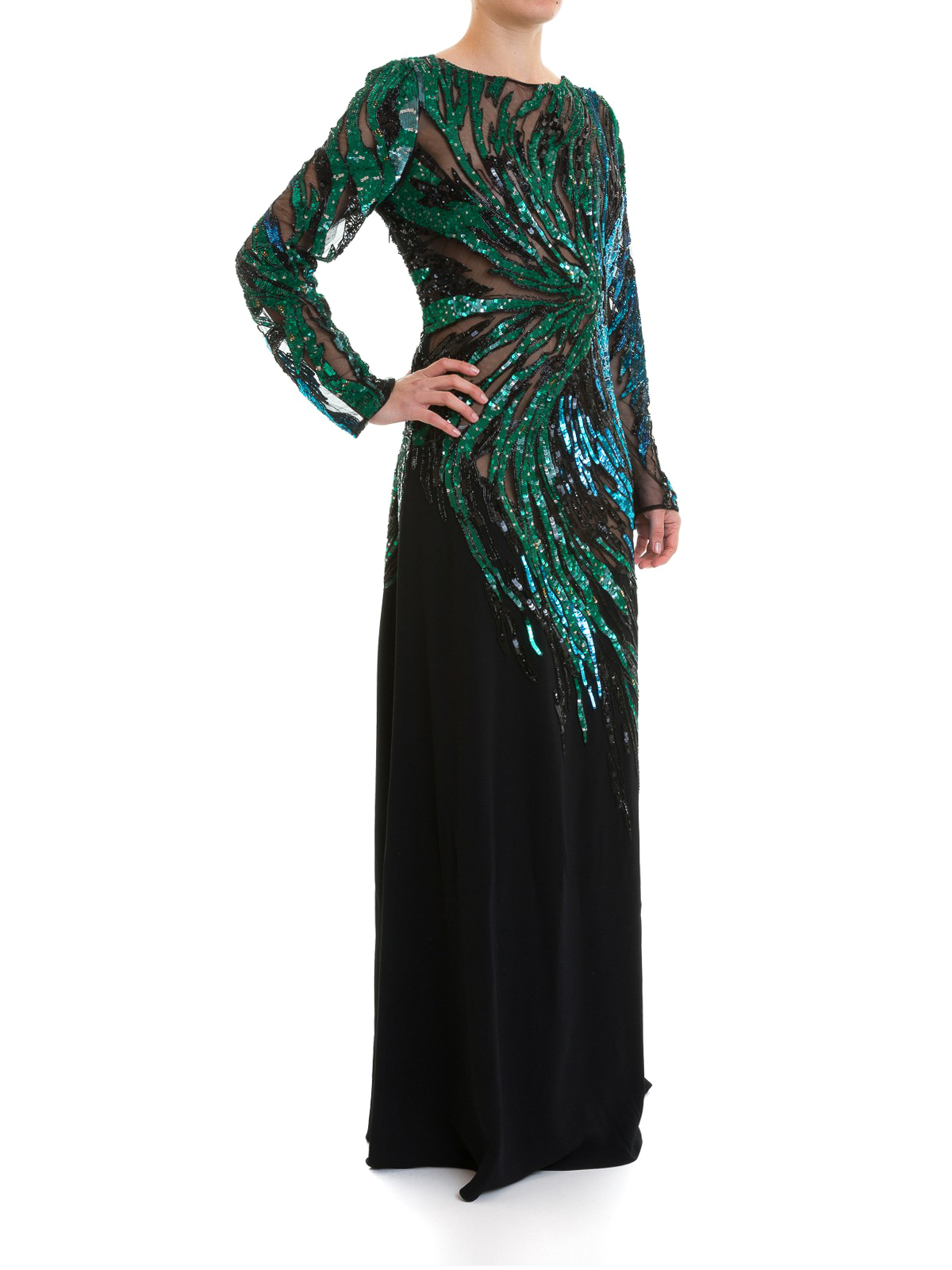 trouver le prix le plus bas hot-vente plus récent caractéristiques exceptionnelles Roberto Cavalli - Robe De Soirée - Multicolore - Robes de ...