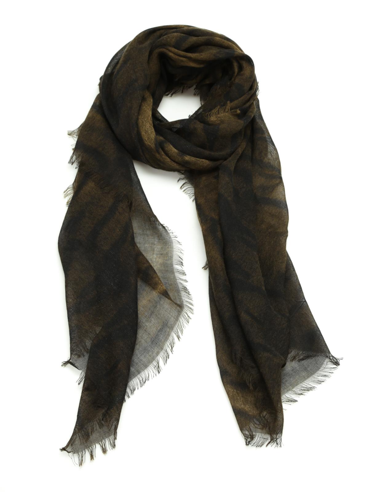 new styles 0de51 5c1fc Roberto Cavalli - Animal print shawl - Stoles & Shawls ...