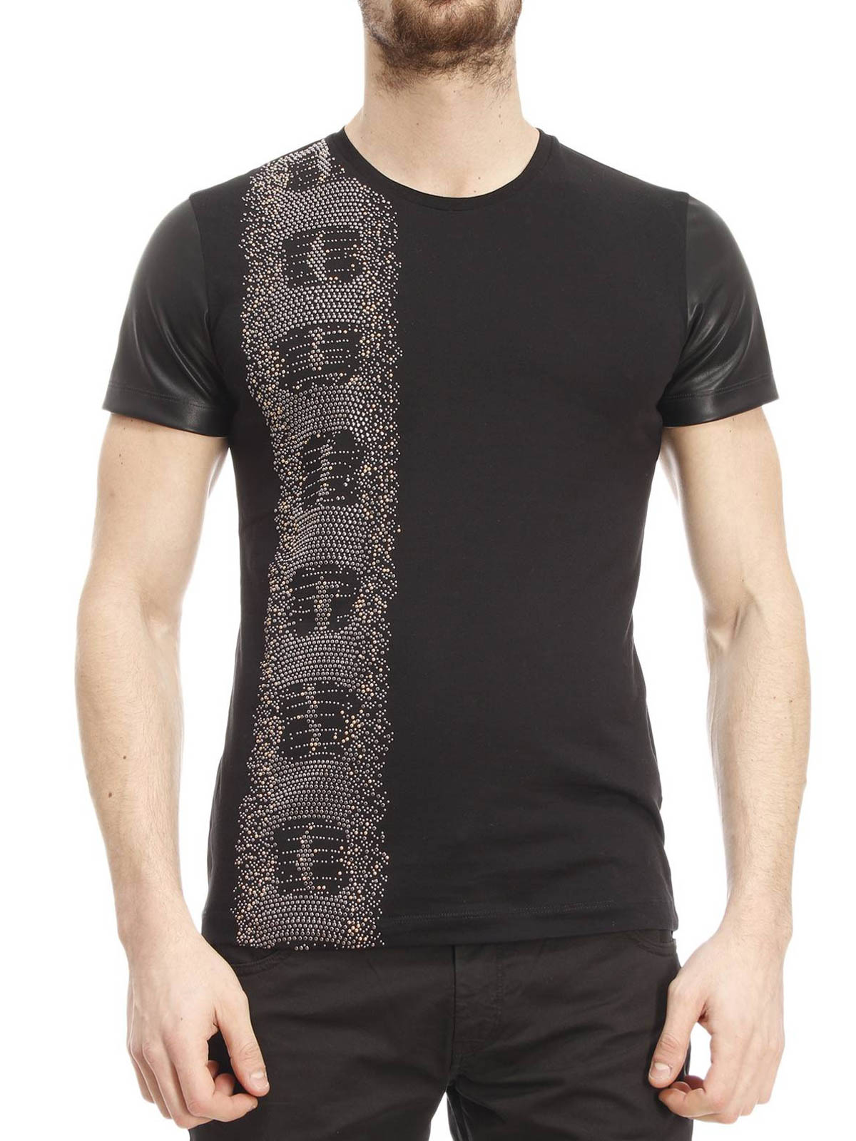 JUST CAVALLI Premium soft cotton black colour regular fit Lion print Just Cavalli branding. Search. Home Men. Expand submenu Men Collapse submenu Men. All Jeans / Chinos Track Pants / Joggers Roberto Cavalli SO1GC T shirt. Regular price R 3, Size.