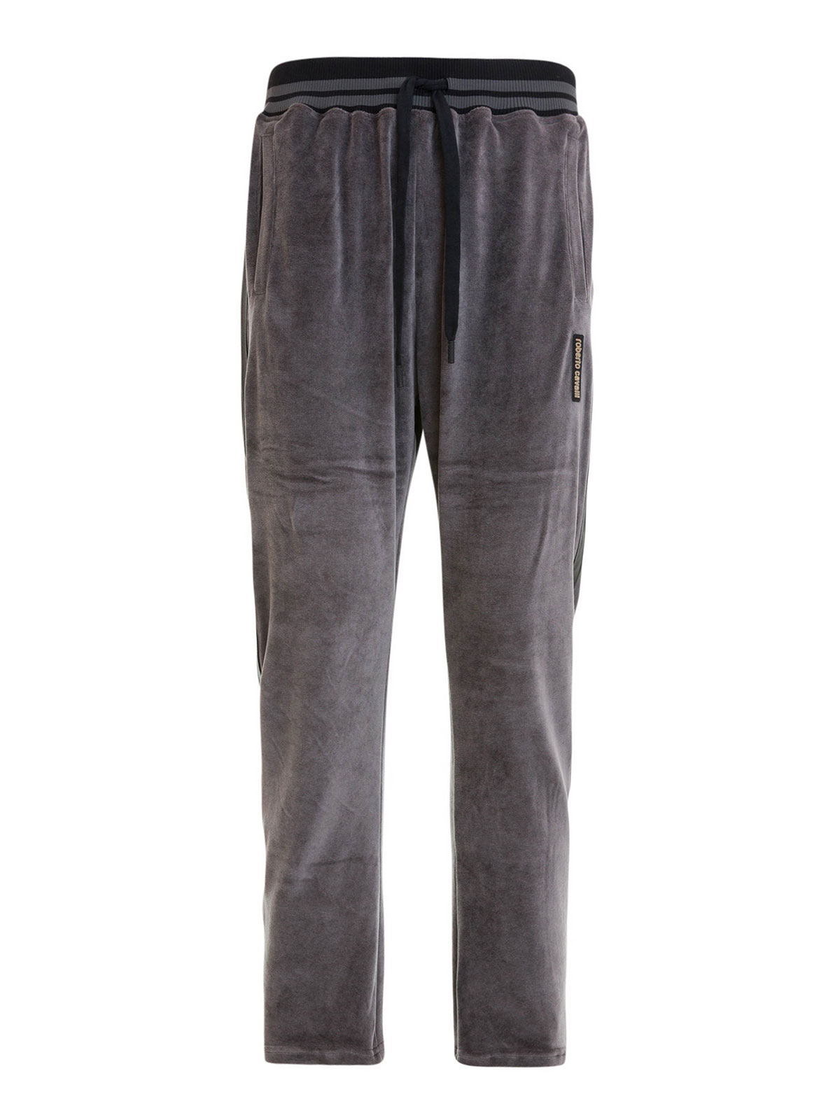 7cf758c11ea9 Roberto Cavalli - Chenille jogging trousers - tracksuit bottoms ...