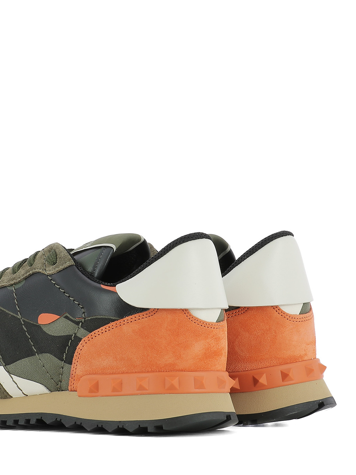 Valentino Sneakers Garavani Camouflage Rockrunner Trainers DH29EI