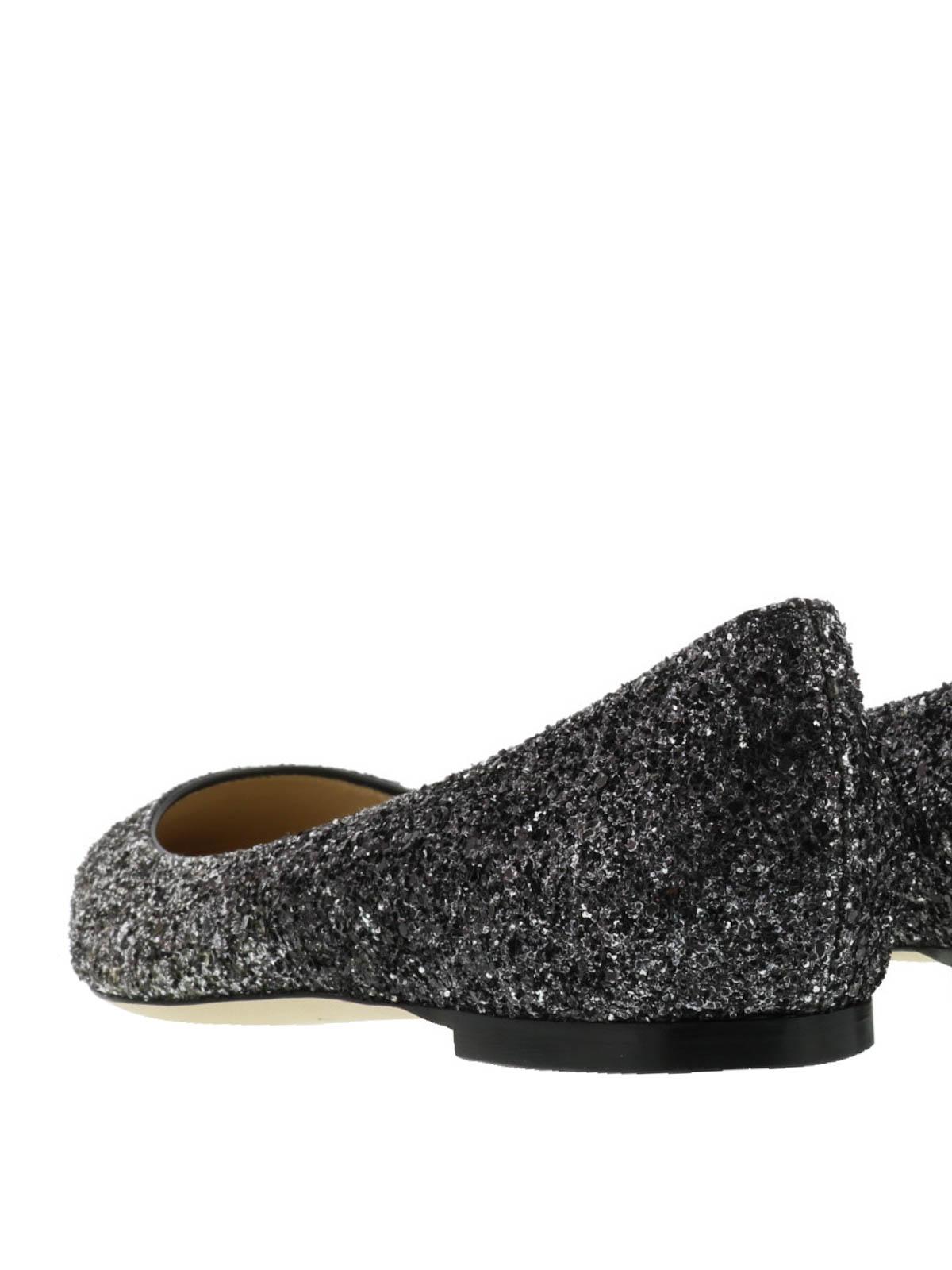 ebdc177b2639 Romy faded glitter ballerinas shop online  JIMMY CHOO · JIMMY CHOO  flat  shoes ...