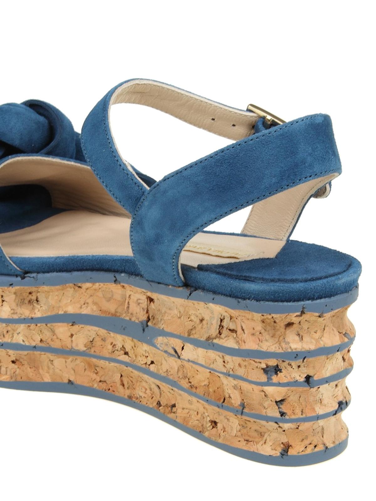874535828d1 Paloma Barcelò - Rosa maxi bow flatform sandals - sandals ...