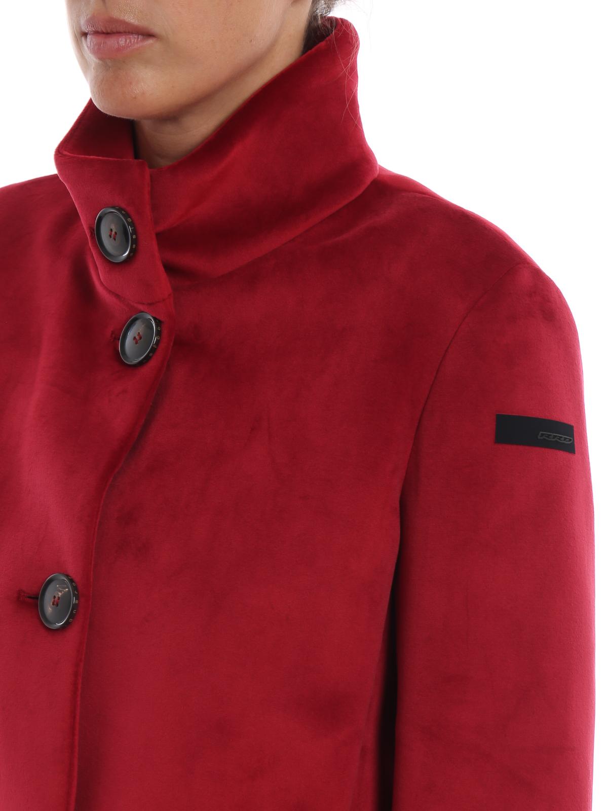 Giacca Neo Velvet K velluto rosso