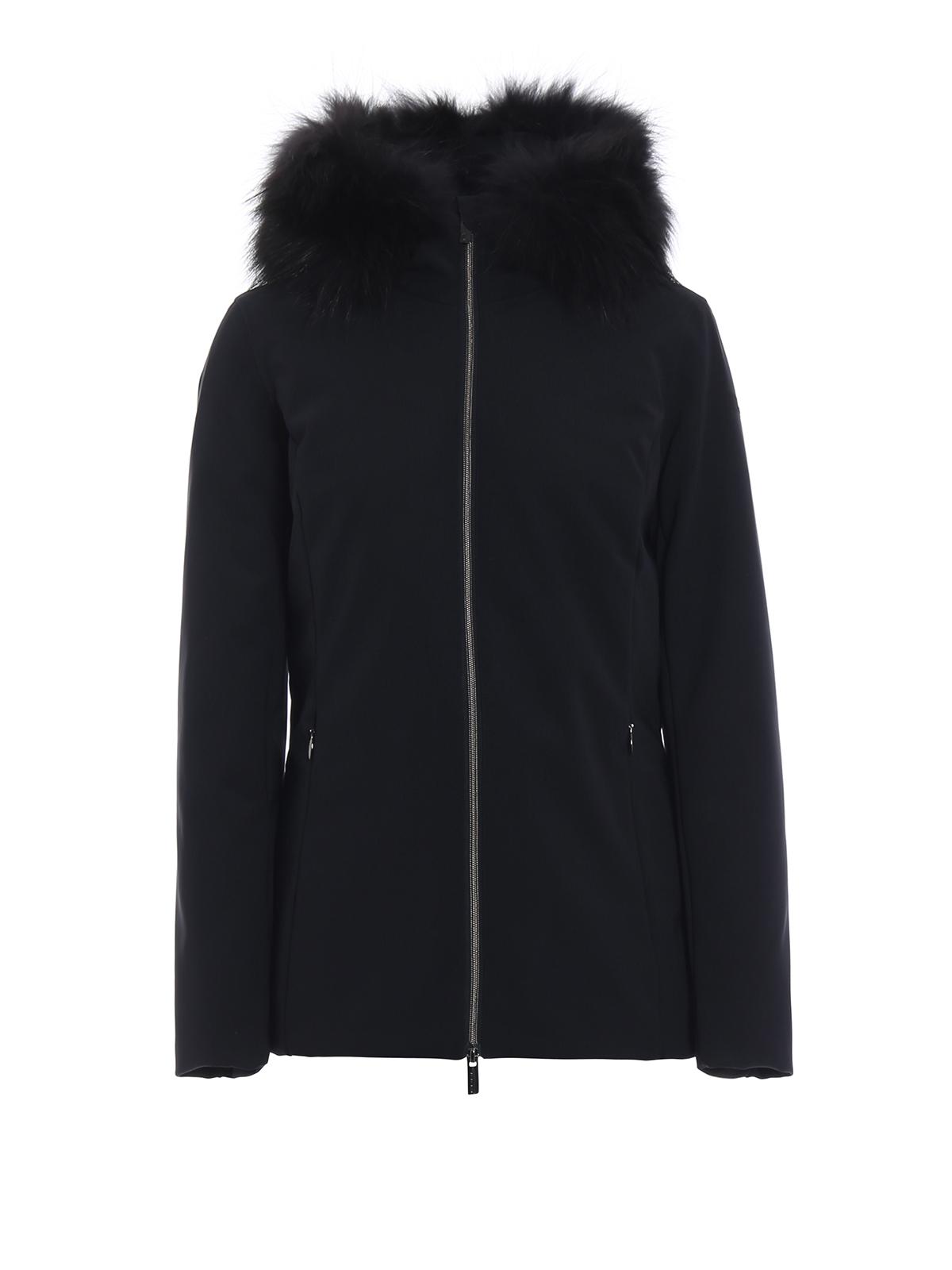 Rrd Winter Storm Lady Fur Blue Jacket Padded Jackets