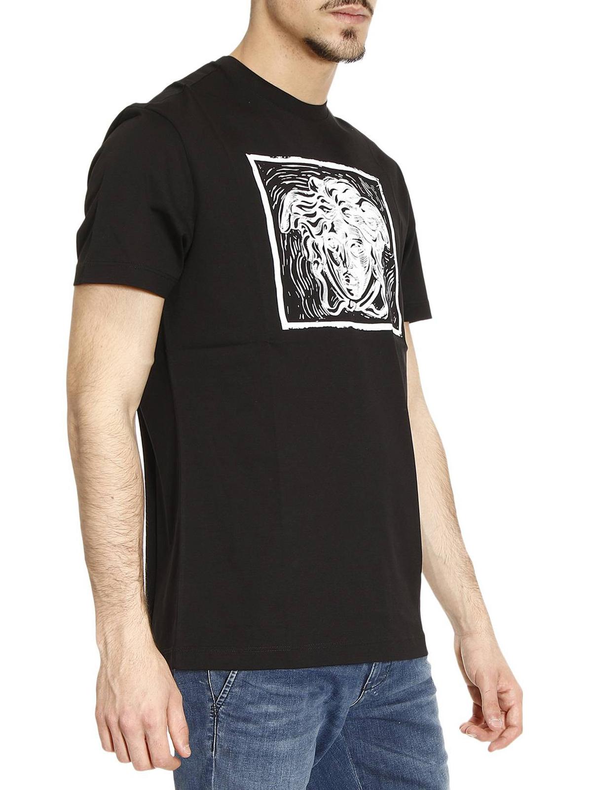 4c45fc715e3 Versace - T-Shirt Medusa Pour Homme - T-shirts - A76218 A201952 A008