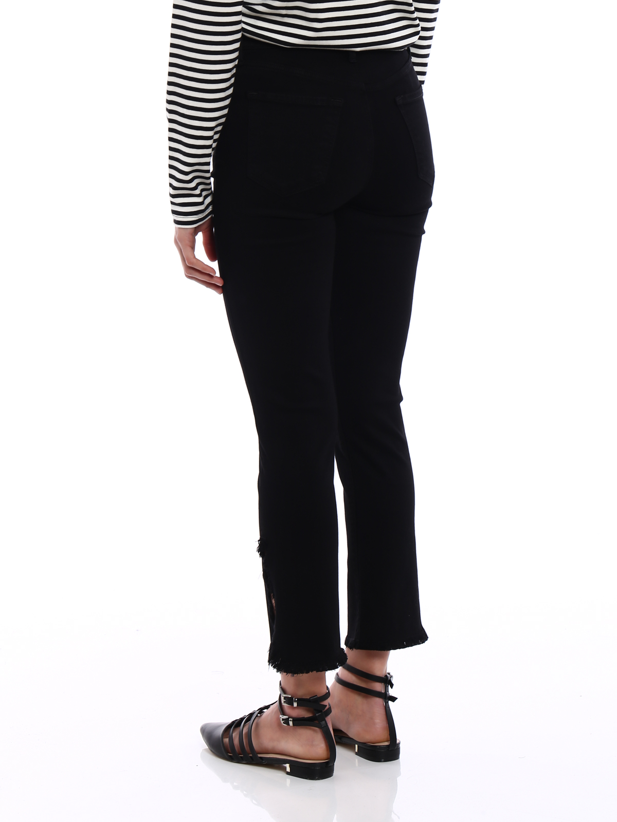 closer at delicate colors united states J Brand - Ruby black jeans - straight leg jeans - JB001429FATEFUL