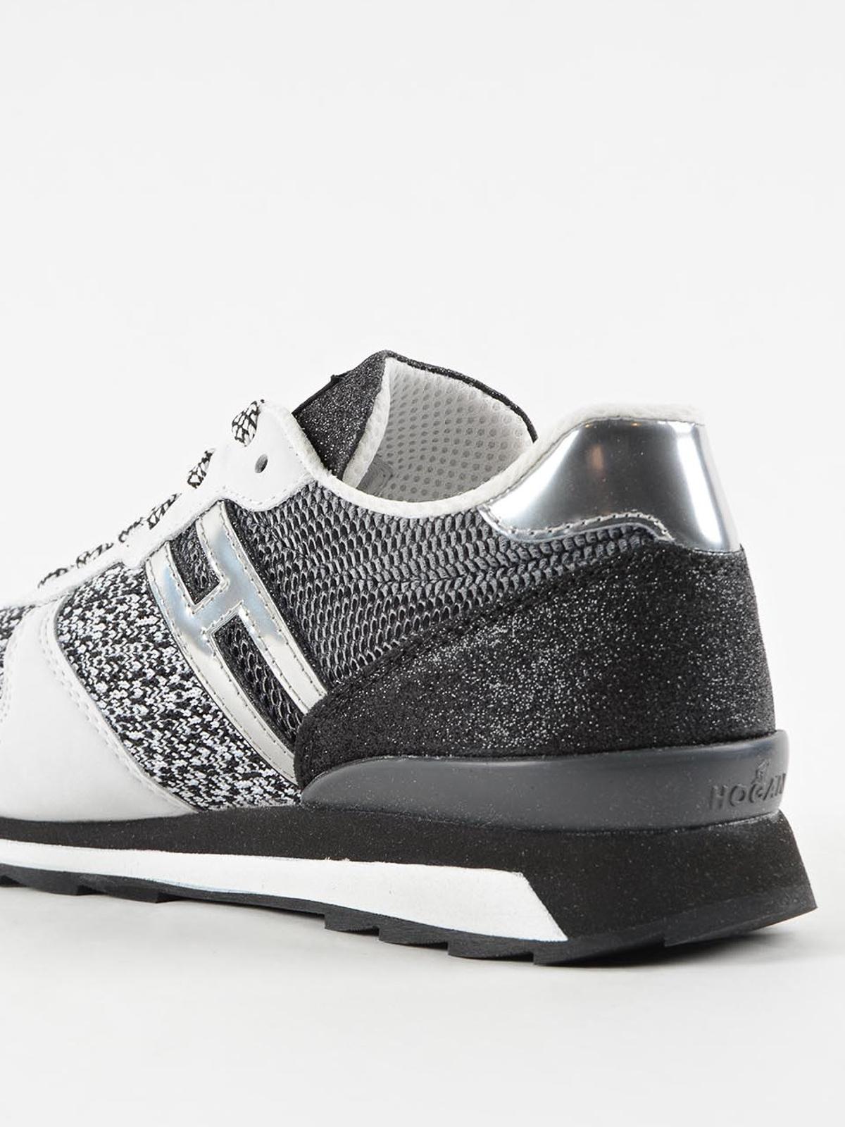 Conception innovante ce3b4 dcdc3 Hogan Rebel - Baskets Running-R261 Pour Femme - Chaussures ...