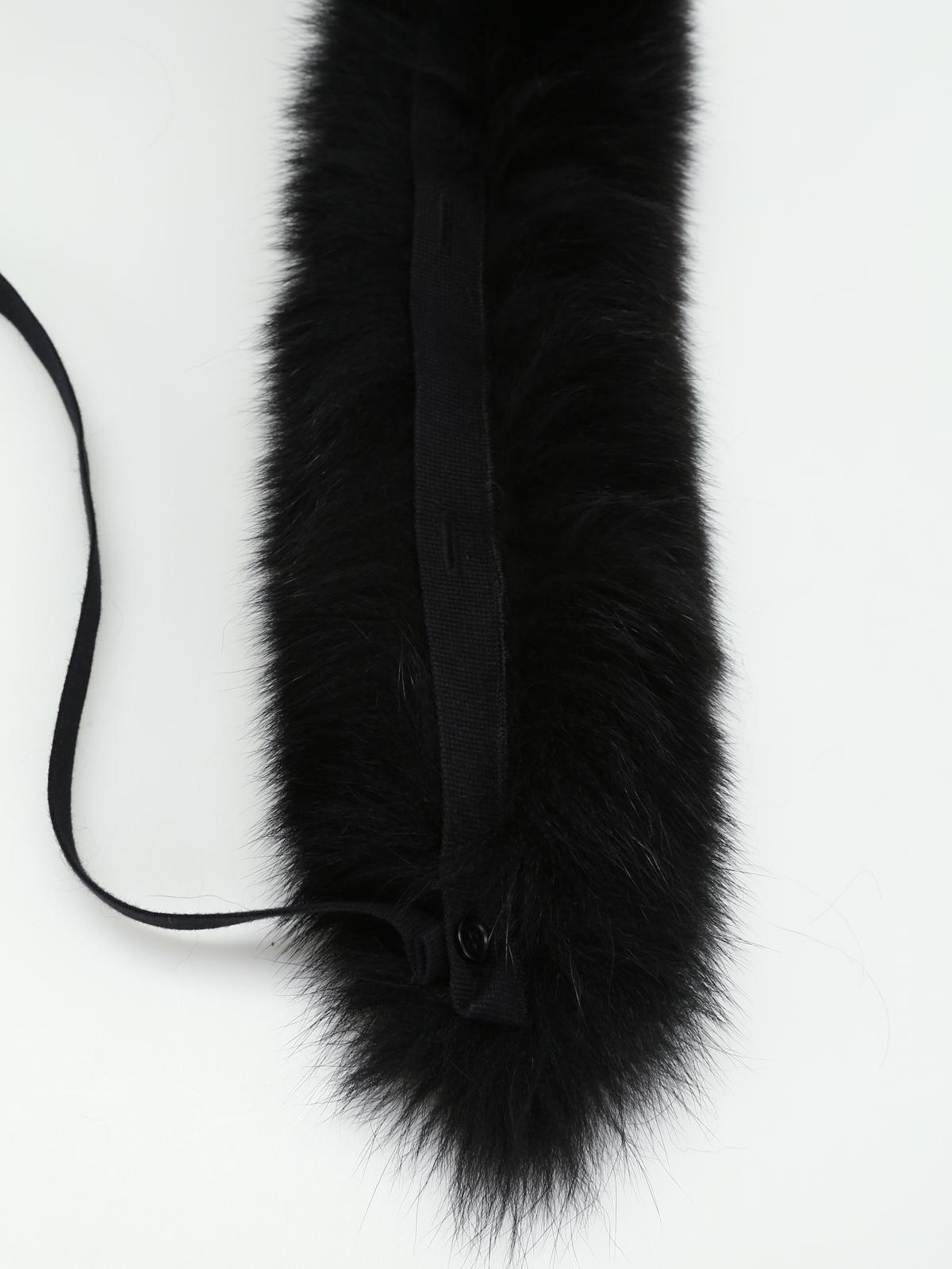 S MAX MARA  sciarpe e foulard online - Collo Uniion in pelliccia di volpe 60bdea50f36