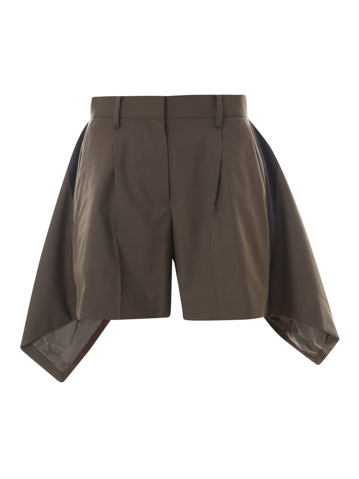 Sacai SHORTS WITH SIDE APPLICATIONS