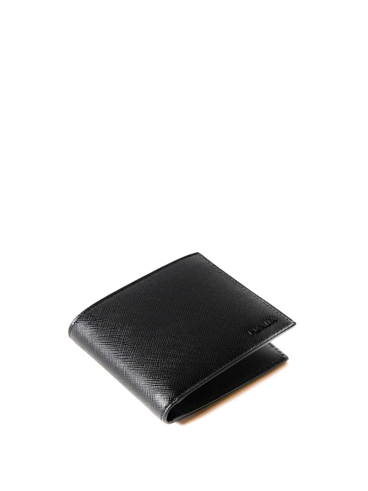 1d603660d0c7 Prada - Saffiano leather bifold wallet - wallets & purses - 2MO513ZLP002