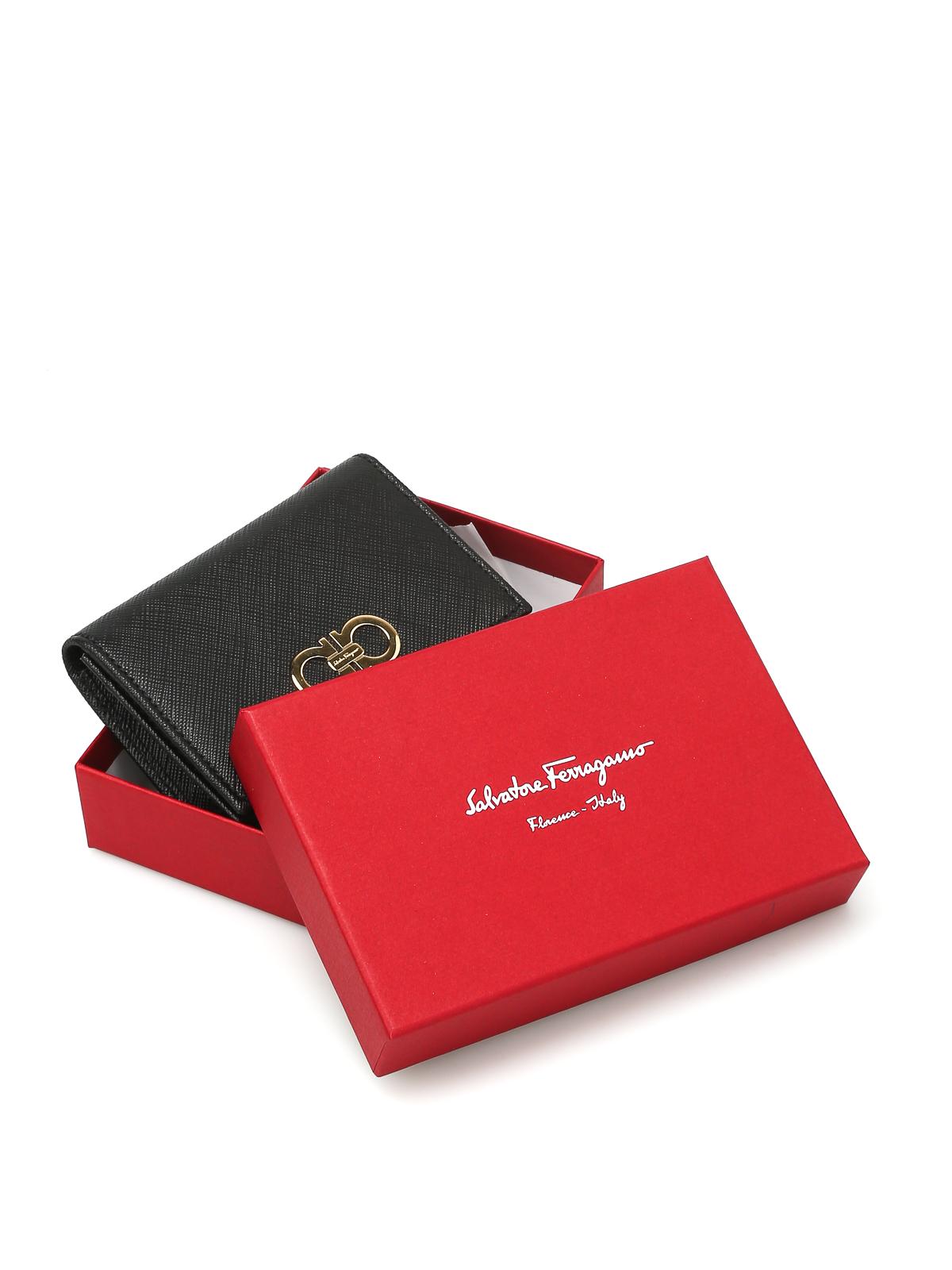 5a802a49d1 Salvatore Ferragamo - Saffiano leather coin purse - wallets   purses ...