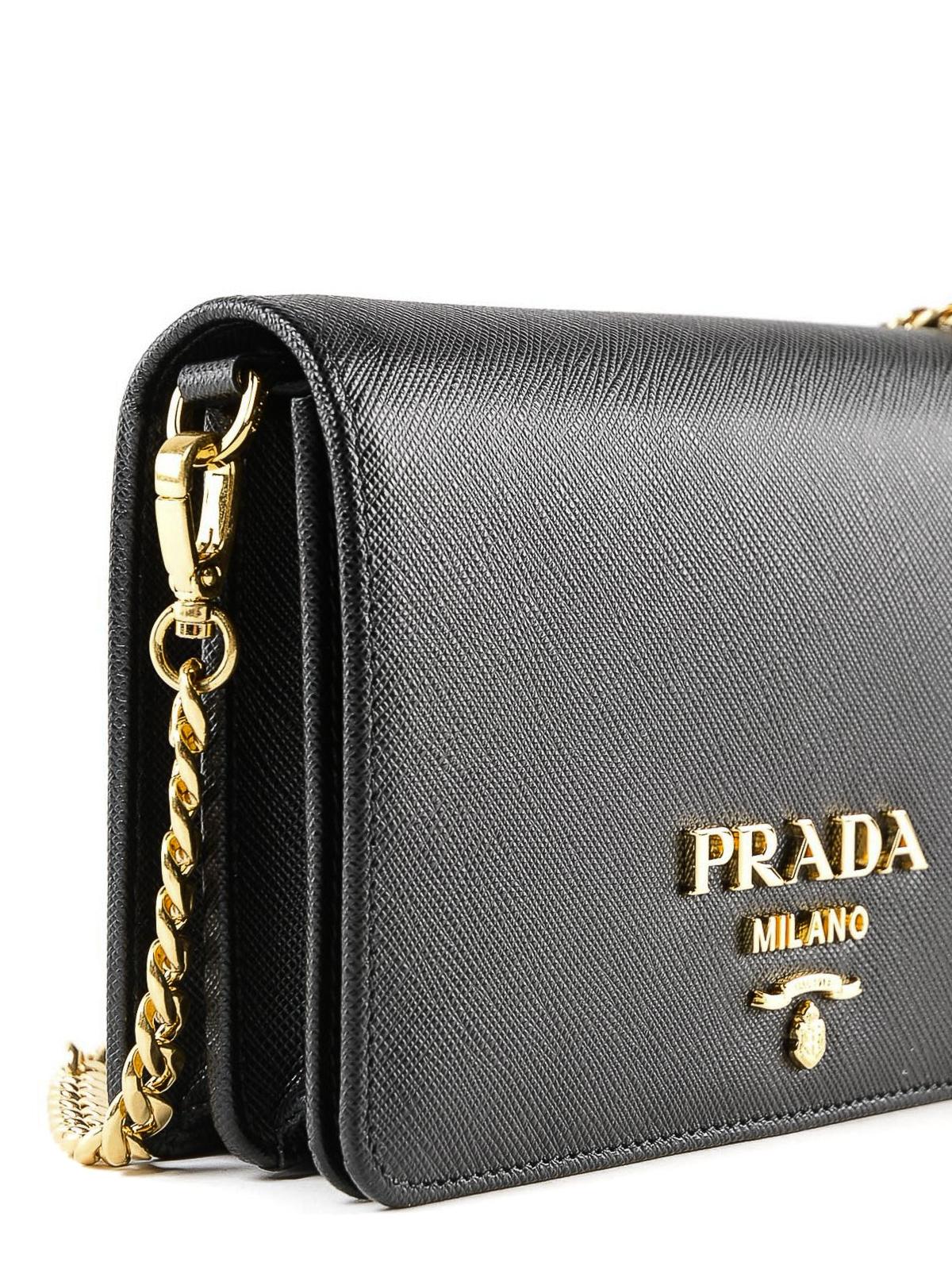 780daf0e24ca Prada - Saffiano leather wallet clutch - clutches - 1BP006NZV VCOW 002