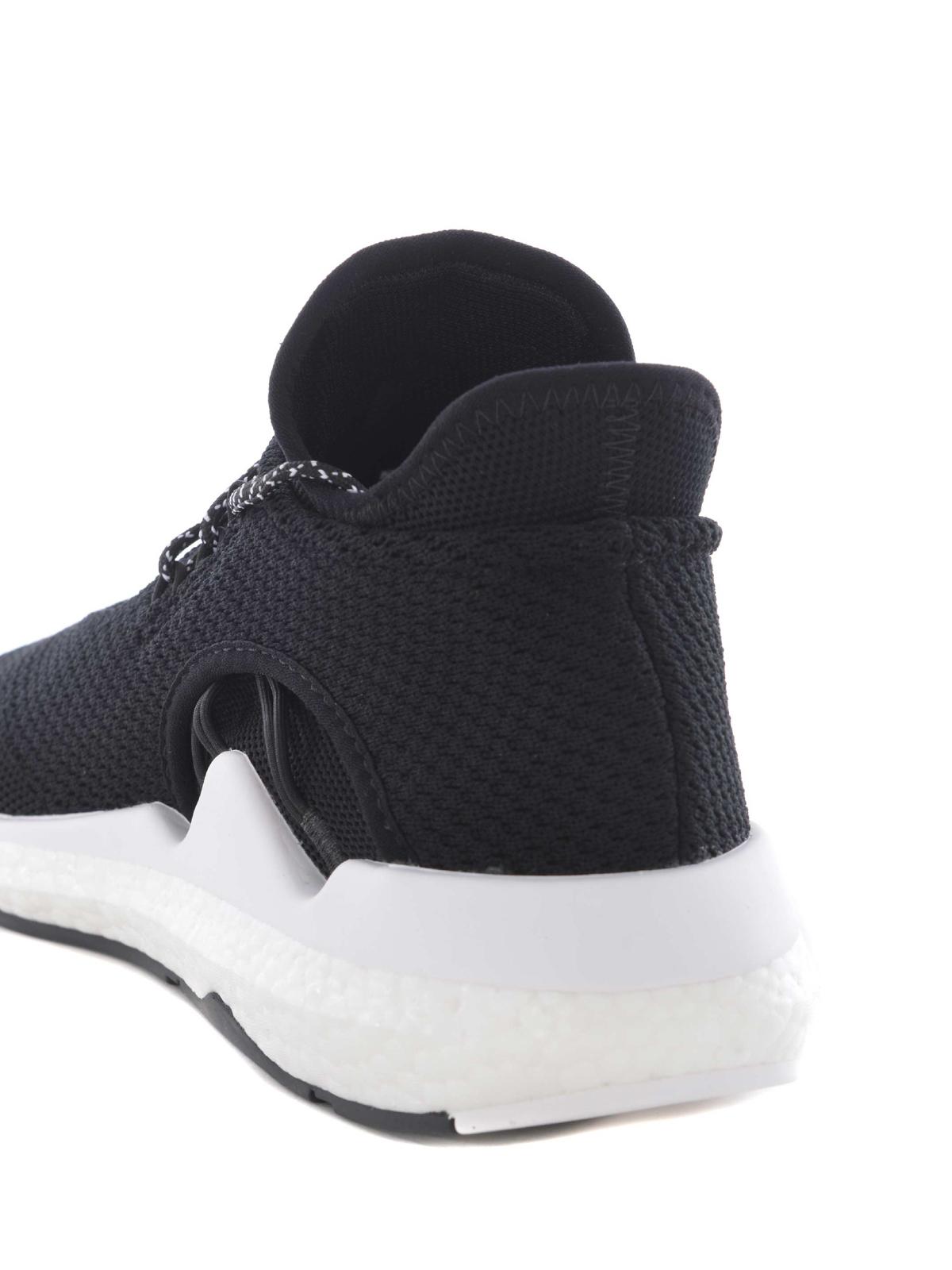 Adidas Y-3 - Trainer Saikou - sneakers - AC7196 COREBLACKFTWRW ... c4077b739cb