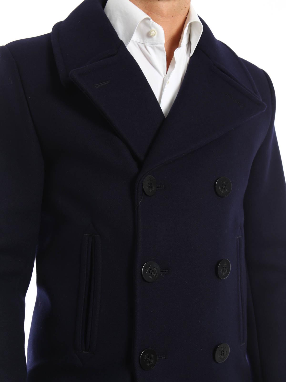 91d6a5a5cb6 Saint Laurent - Classic wool caban - short coats - 343626Y112W 4140