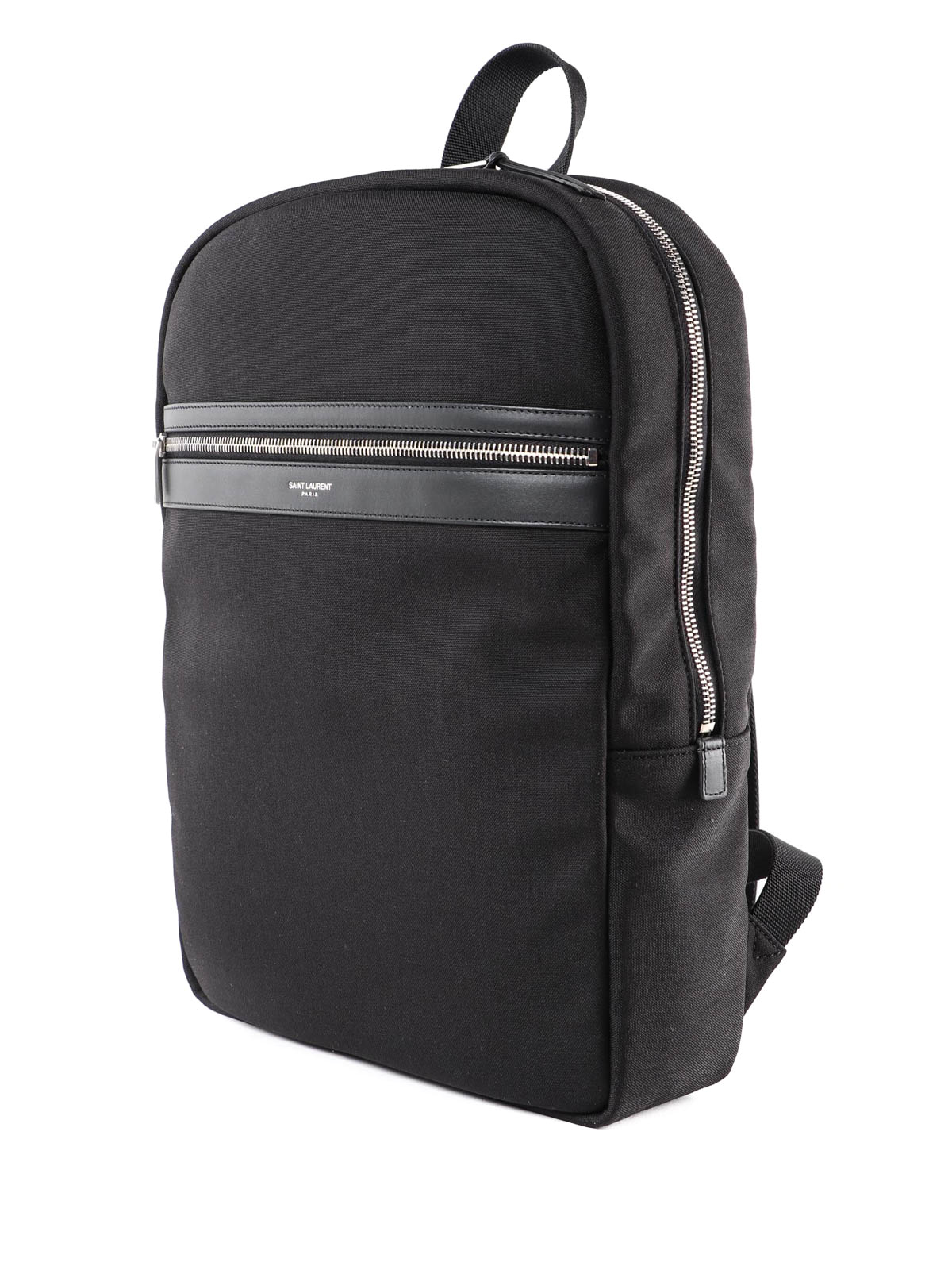 3cde2a1b49 SAINT LAURENT  backpacks online - City canvas and leather backpack