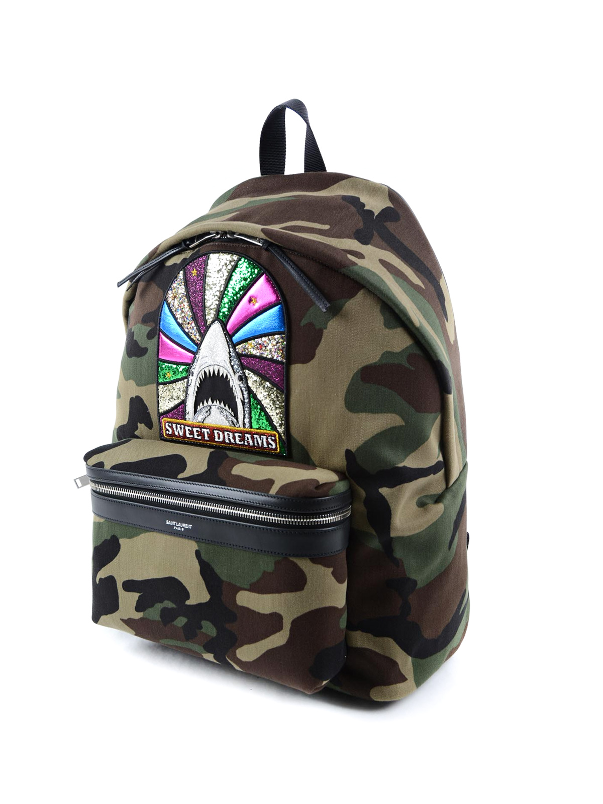 2e1a12ae1f SAINT LAURENT: backpacks online - City Sweet Dreams patch backpack