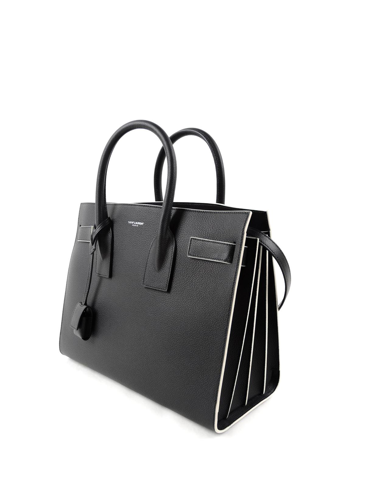 b164a0a28a0e Saint Laurent - Small Sac De Jour leather tote - totes bags - 378299 ...