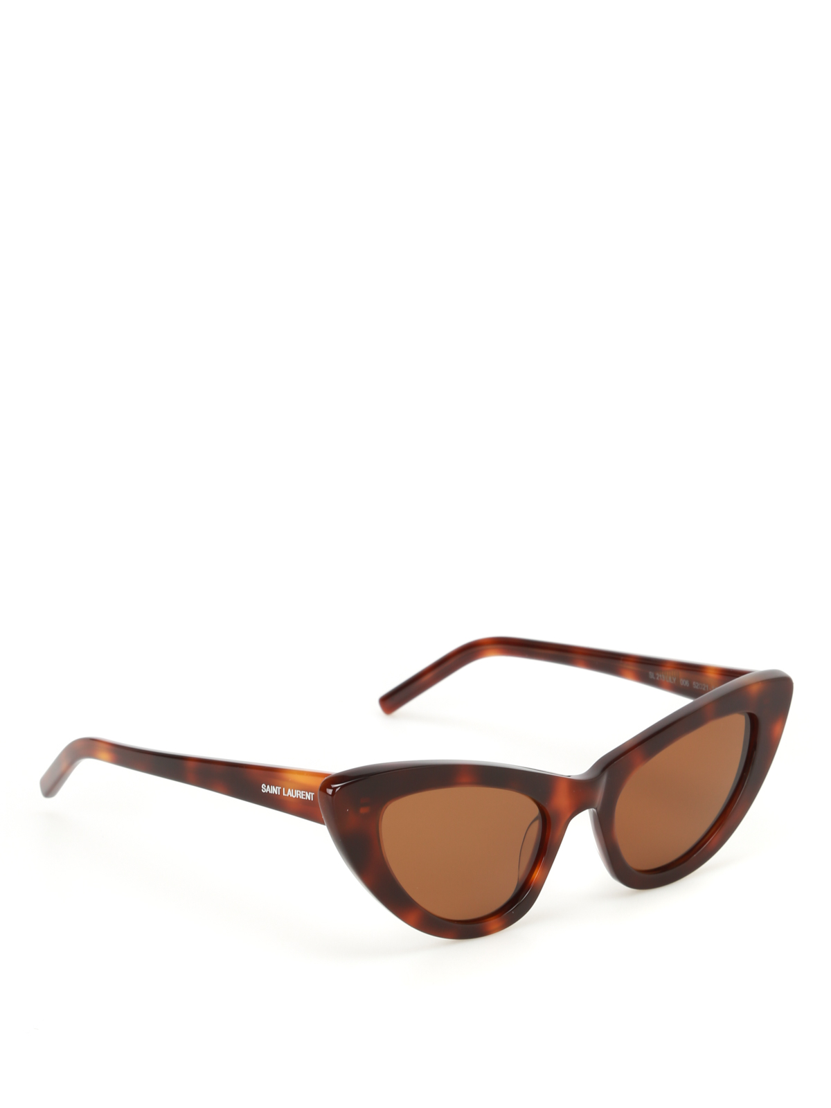 0e0d86d21b Saint Laurent - Lily tortoise cat eye sunglasses - sunglasses ...