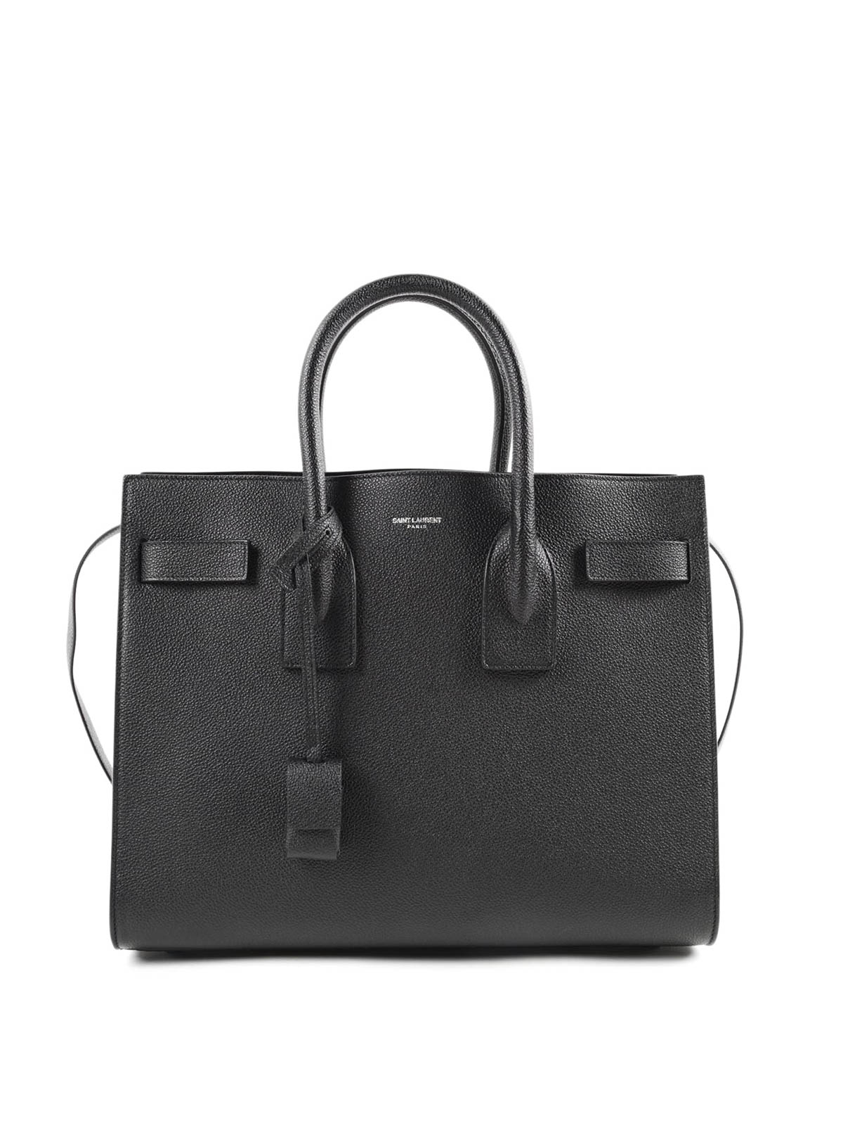 sac de jour grained leather bag by saint laurent totes bags ikrix. Black Bedroom Furniture Sets. Home Design Ideas