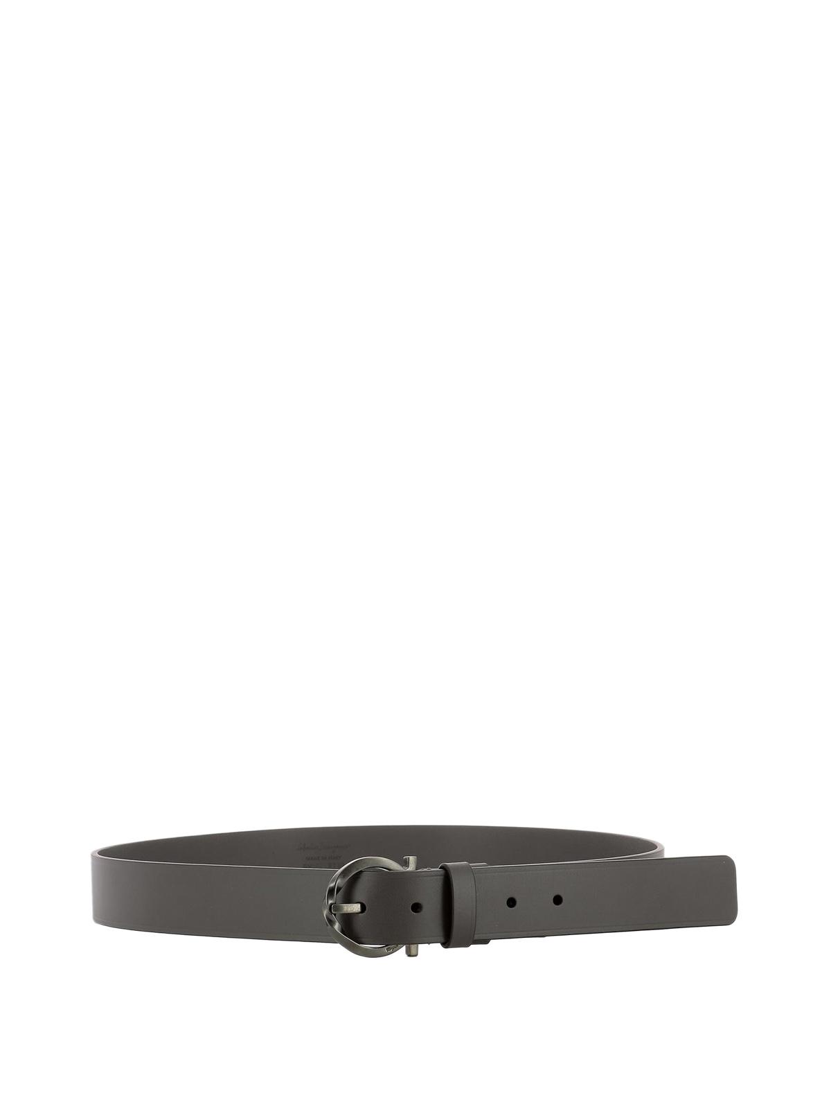 69a20fffc55 ... aliexpress salvatore ferragamo belts signature buckle grey leather belt  81e1c 7207c