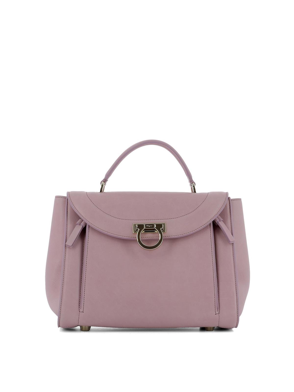 sofia rainbow small pink handbag by salvatore ferragamo bowling bags ikrix. Black Bedroom Furniture Sets. Home Design Ideas