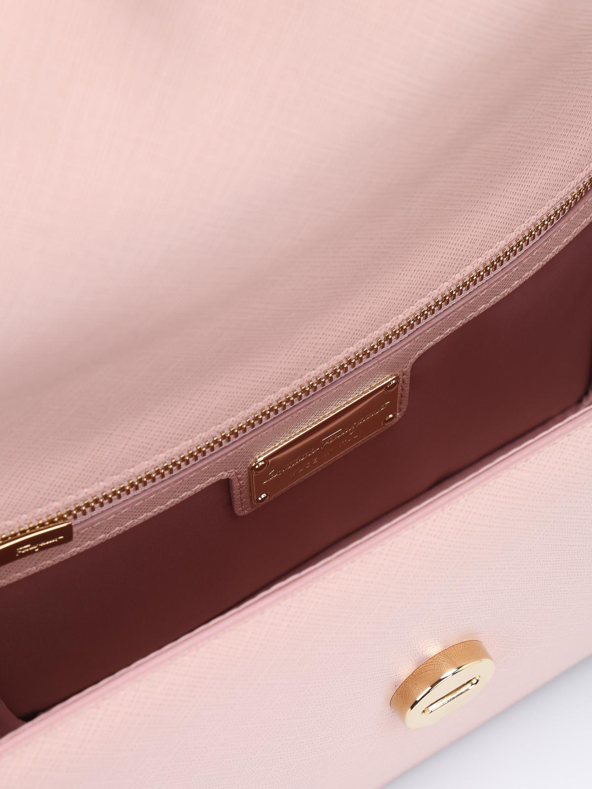 Salvatore Ferragamo - Ginny leather cross body bag - cross body bags ... 047c95a82dc81