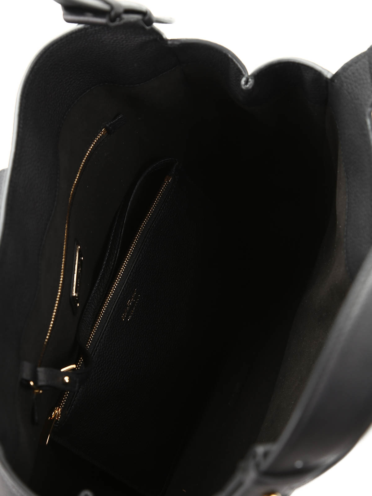 Salvatore Ferragamo - Borsa Perrine in pelle martellata - shopper ... 6e55b65ab7c