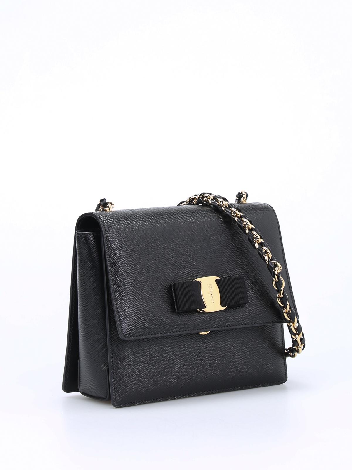 Salvatore Ferragamo Salvador Ferragamo Patent-leather Clutch/ Shoulder Bag vF59G9yjy