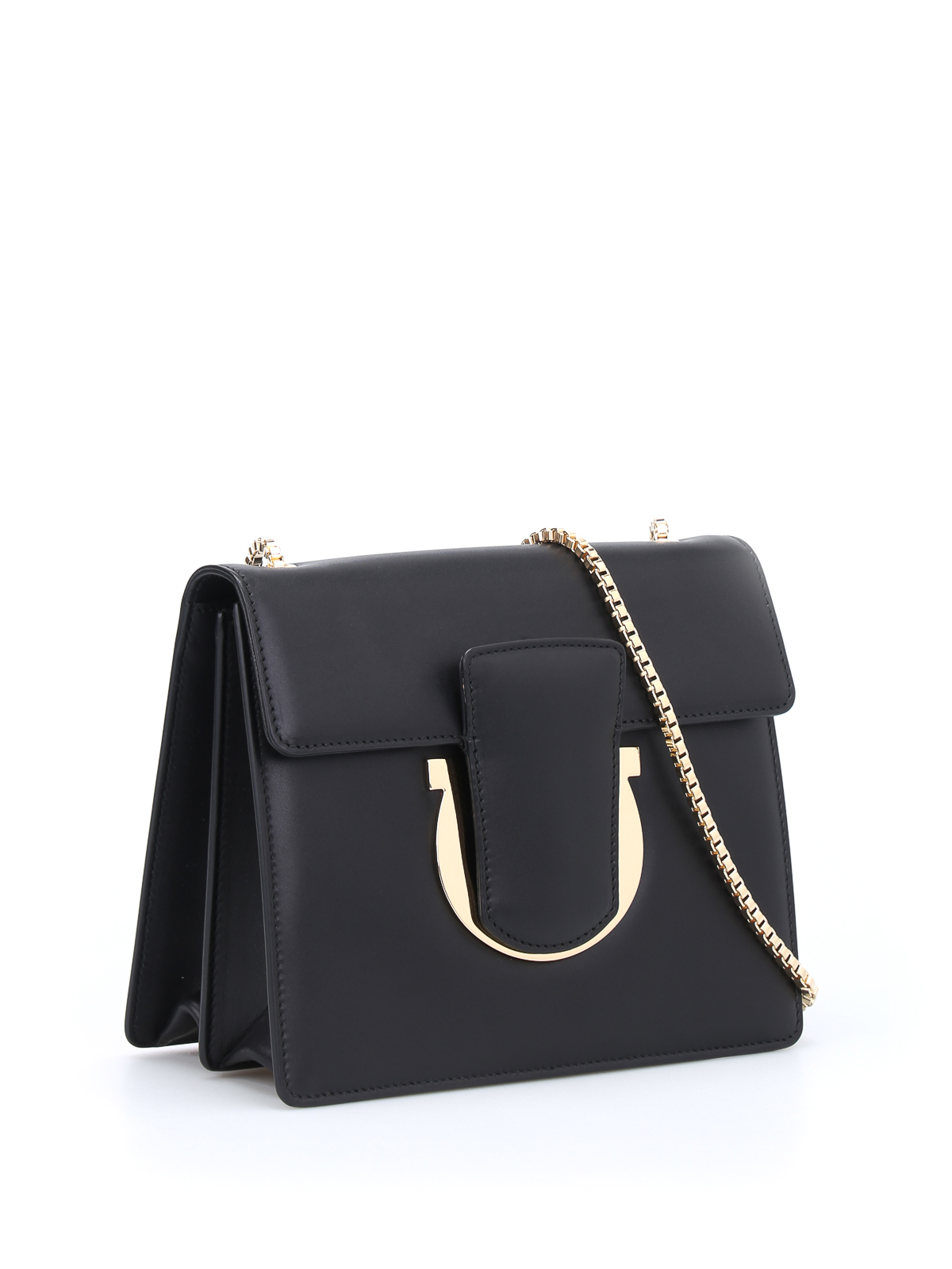 Salvatore Ferragamo Thalia leather clutch 4mvNtM