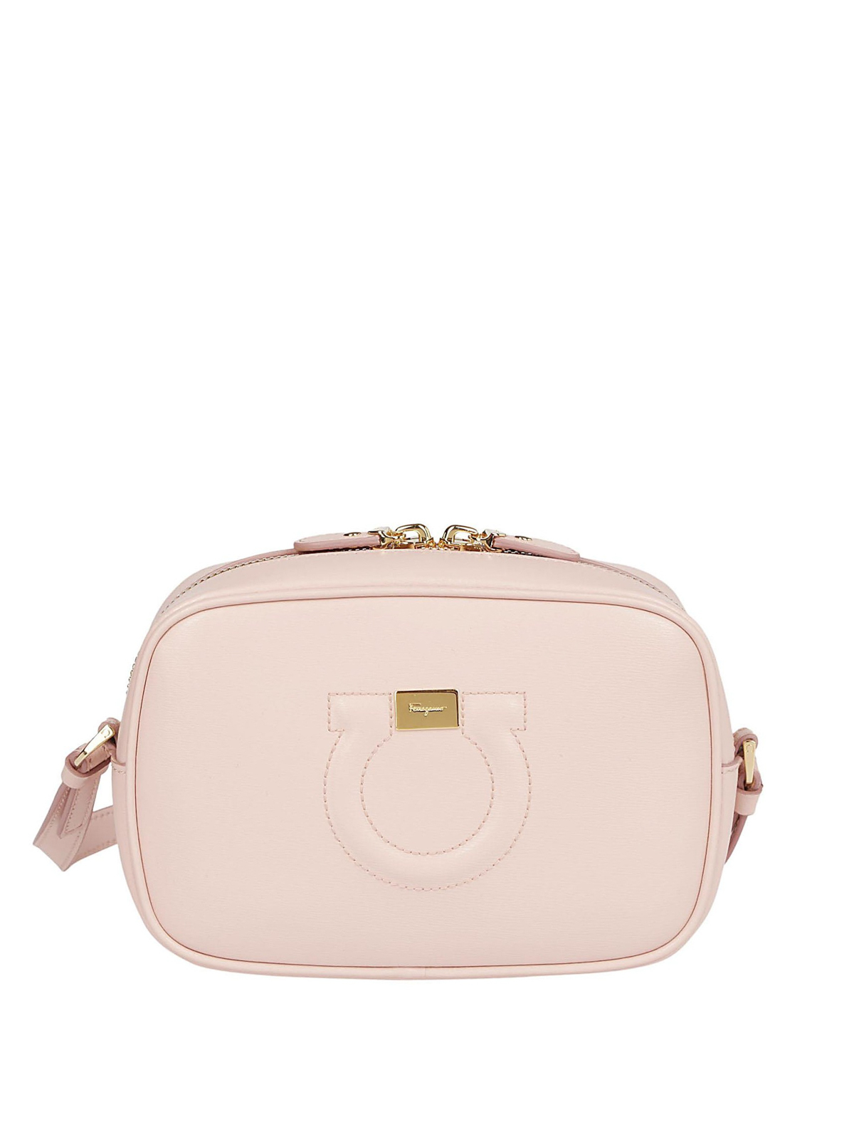 1ad71b86fd SALVATORE FERRAGAMO  cross body bags - Gancini bonbon calfskin small camera  bag