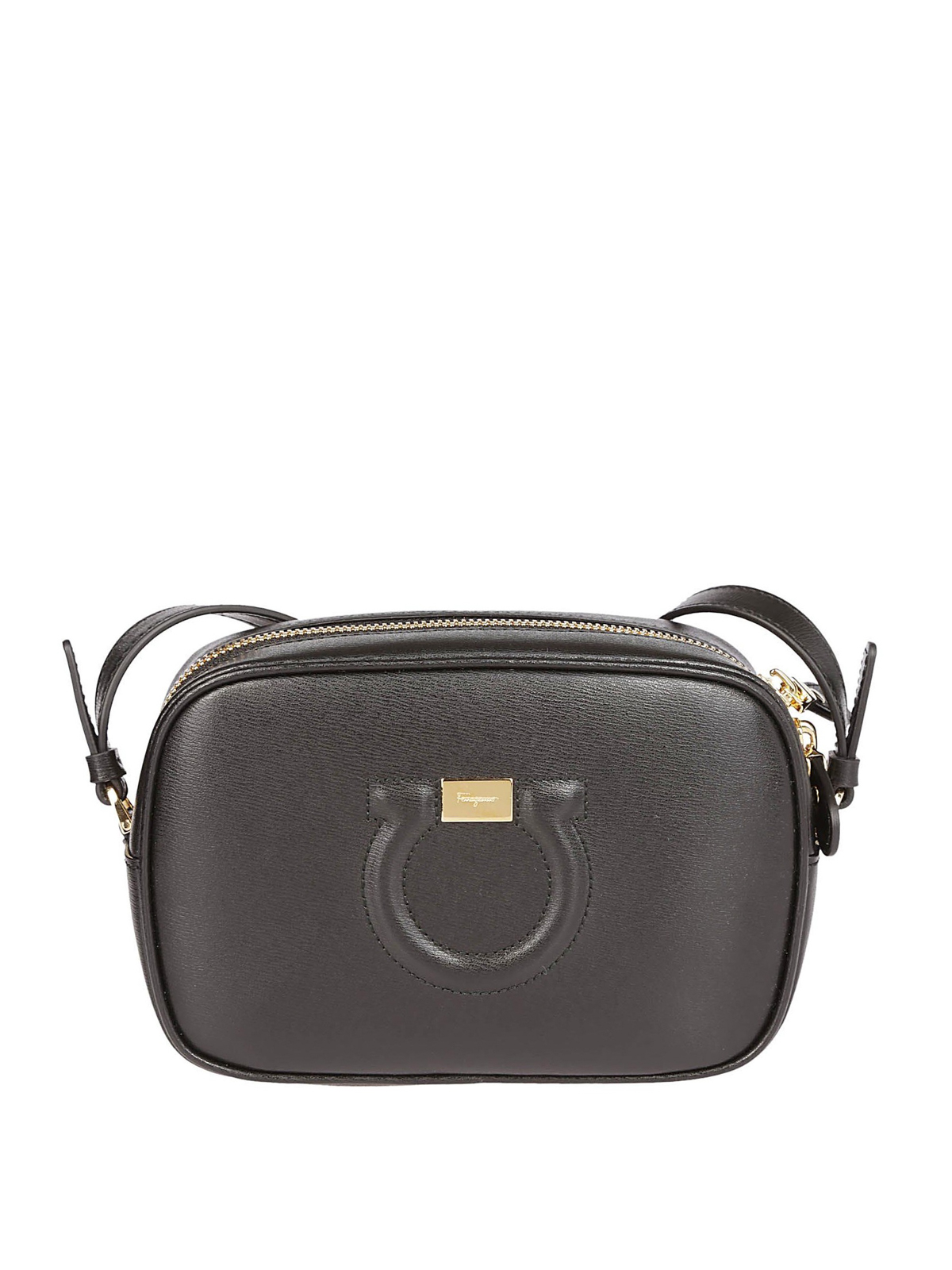 814d7431f7 Salvatore Ferragamo - Gancini calfskin small camera bag - cross body ...