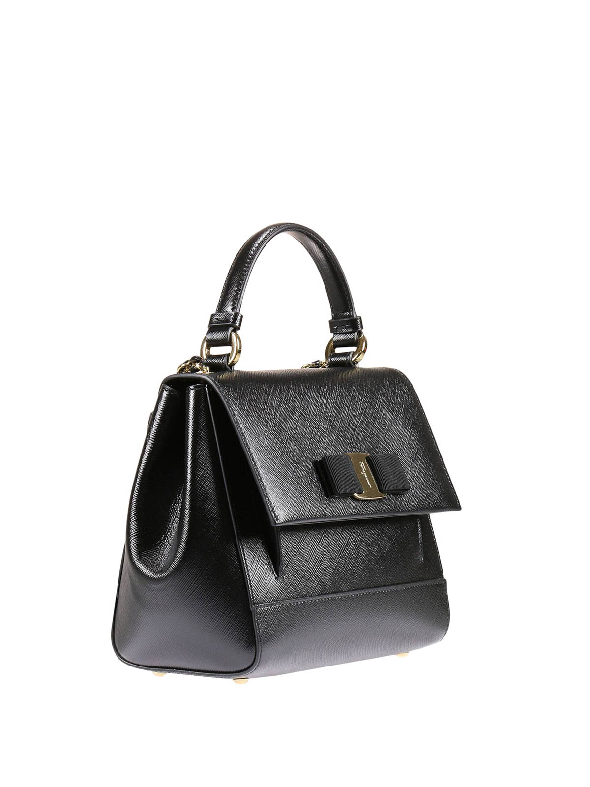 vara bow detail leather bag by salvatore ferragamo cross body bags ikrix. Black Bedroom Furniture Sets. Home Design Ideas