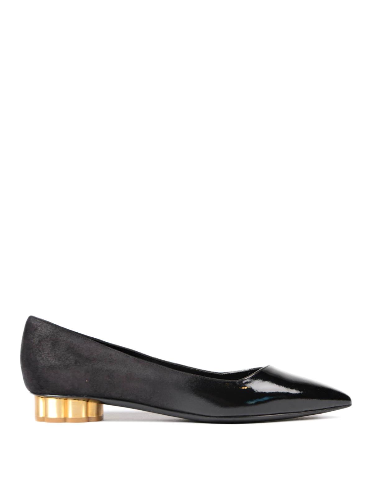 0978b2f98 Salvatore Ferragamo - Bari flower heel flats - flat shoes ...