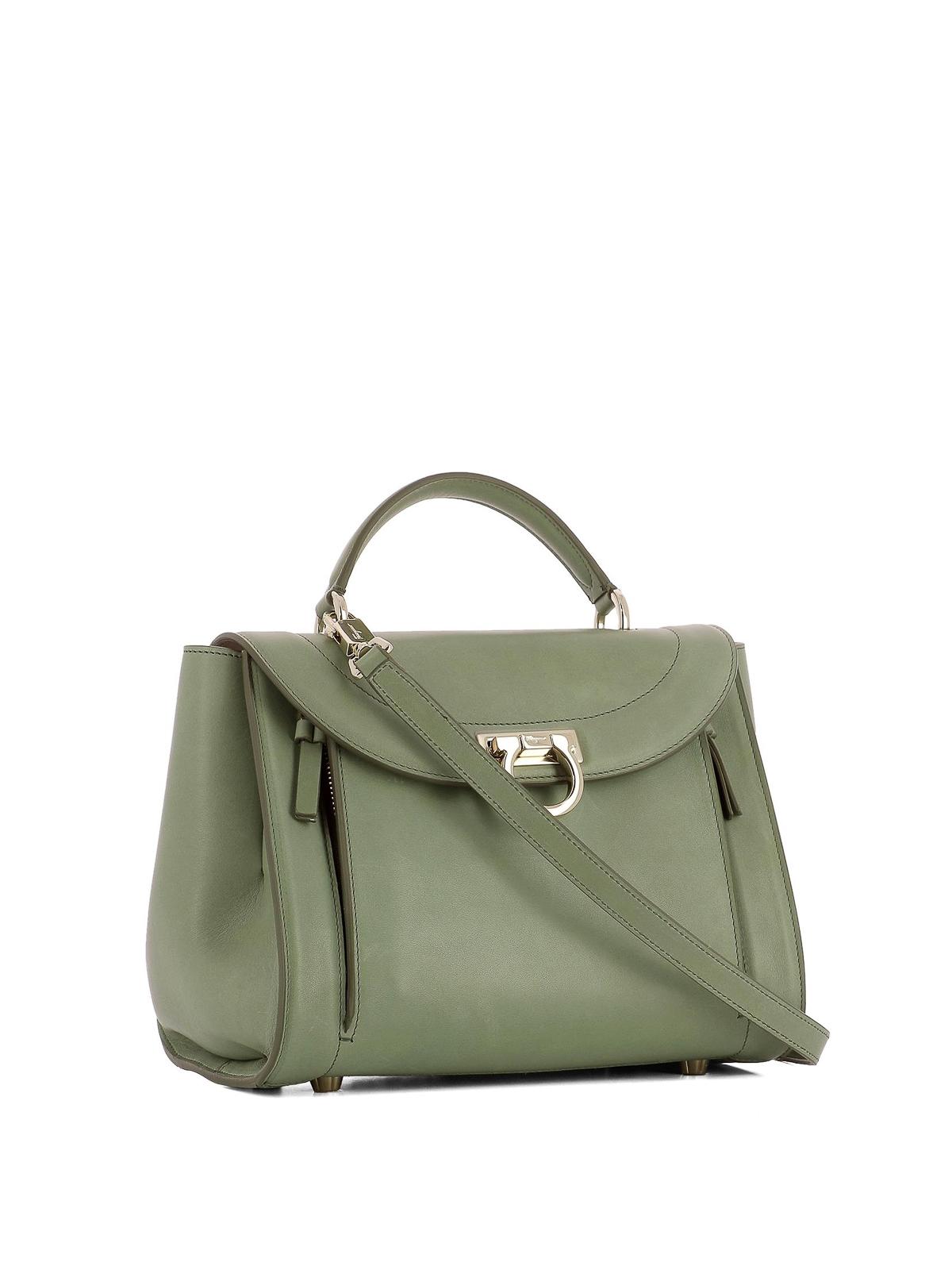 36b16594a2d5 ... SALVATORE FERRAGAMO bowling bags online - Sofia Rainbow small green  handbag new styles 31d69 d91d1 . ...