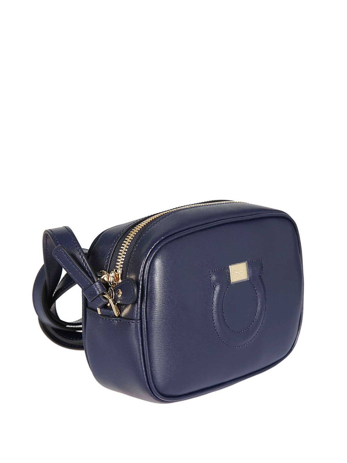 SALVATORE FERRAGAMO  cross body bags online - City front logo detail  leather cross body bag 0d7d1cfa99948
