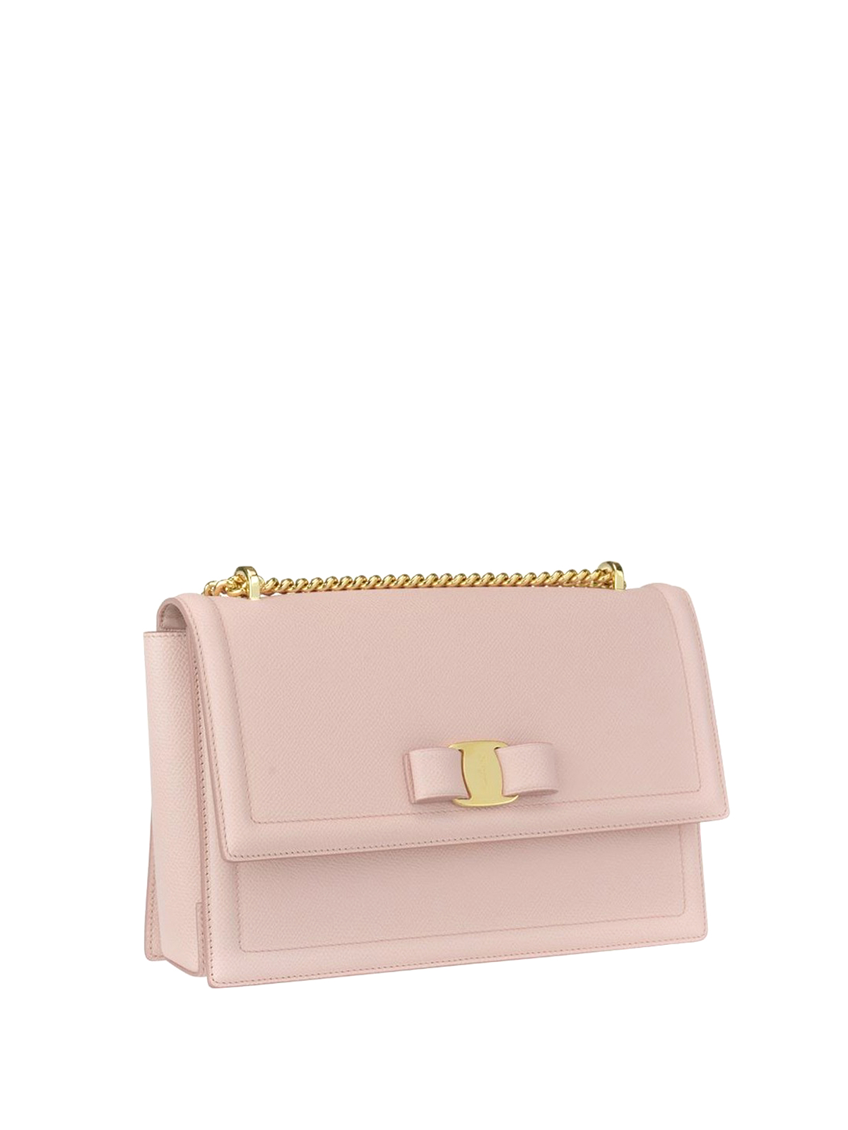 293aaa671094 SALVATORE FERRAGAMO  cross body bags online - Ginny light pink leather bag