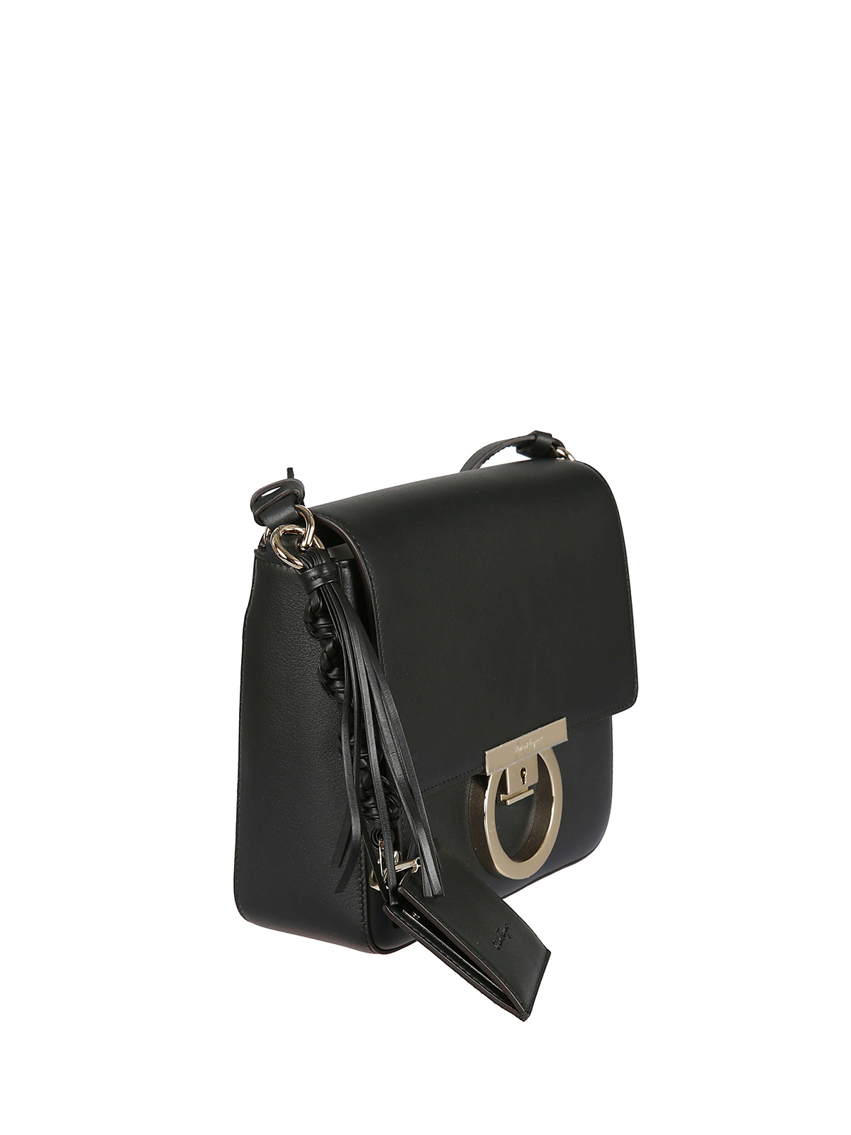 SALVATORE FERRAGAMO  cross body bags online - Lock charm detailed leather cross  body bag a96177cb22556