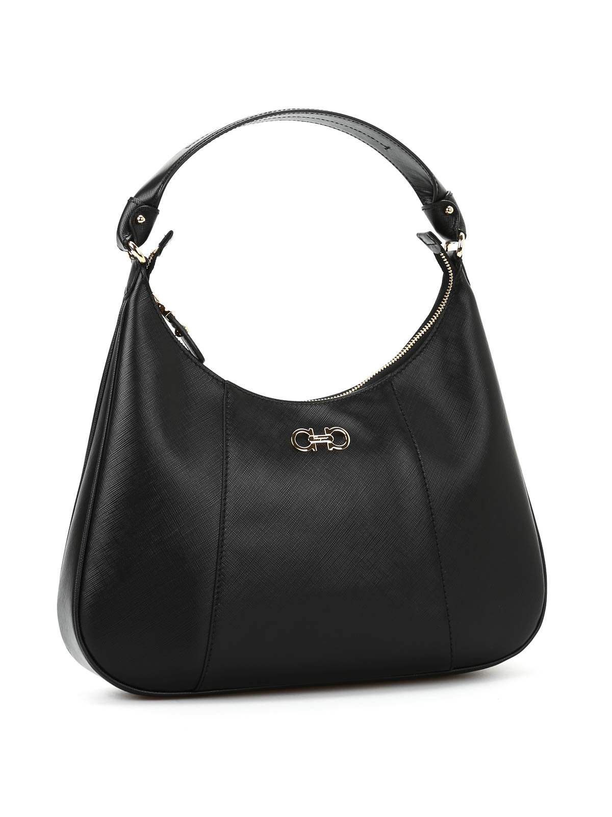 c076ee56a8 SALVATORE FERRAGAMO  shoulder bags online - Petunia saffiano leather bag