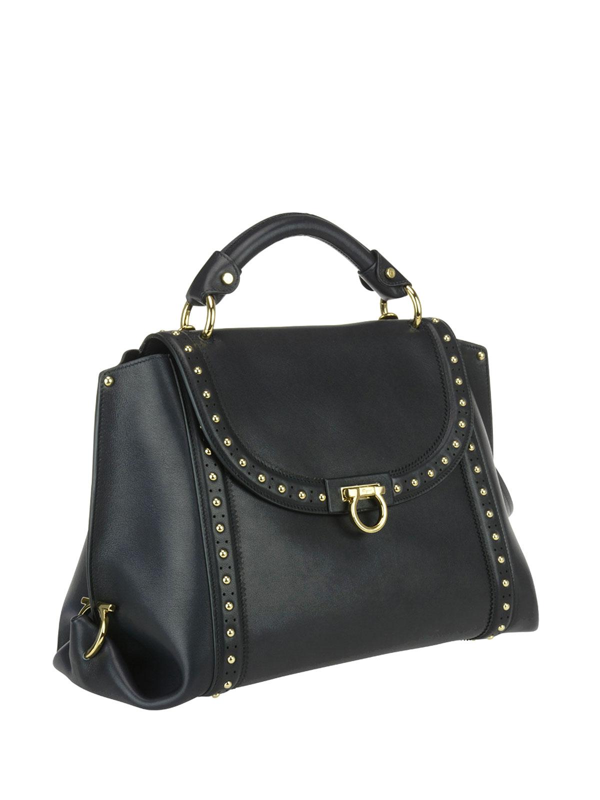 0e82216fa966 Salvatore Ferragamo - Sofia medium leather bag - totes bags - 681060NERO
