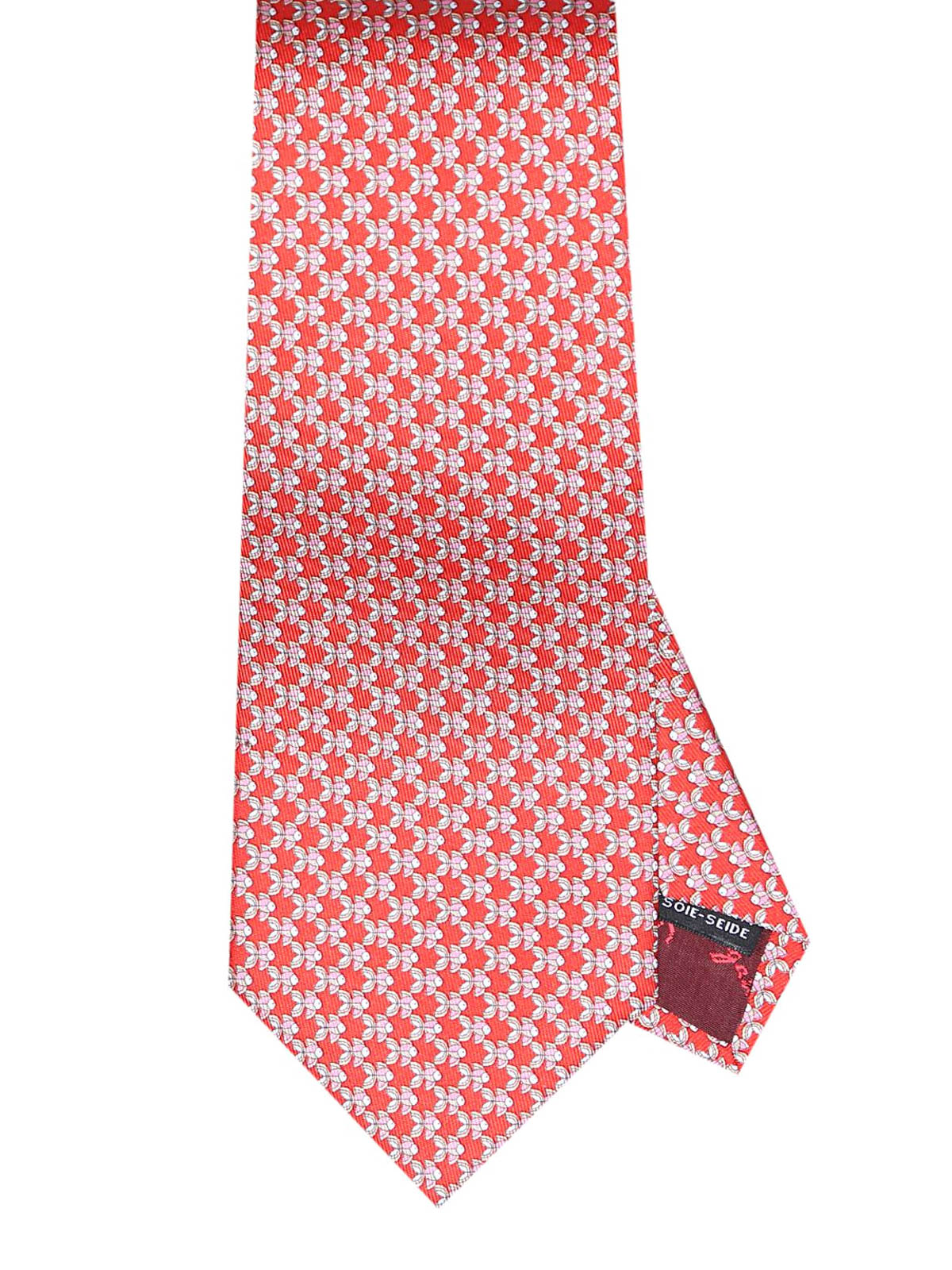 design senza tempo 103c0 1c7ca Salvatore Ferragamo - Cravatta in seta con pesciolini ...