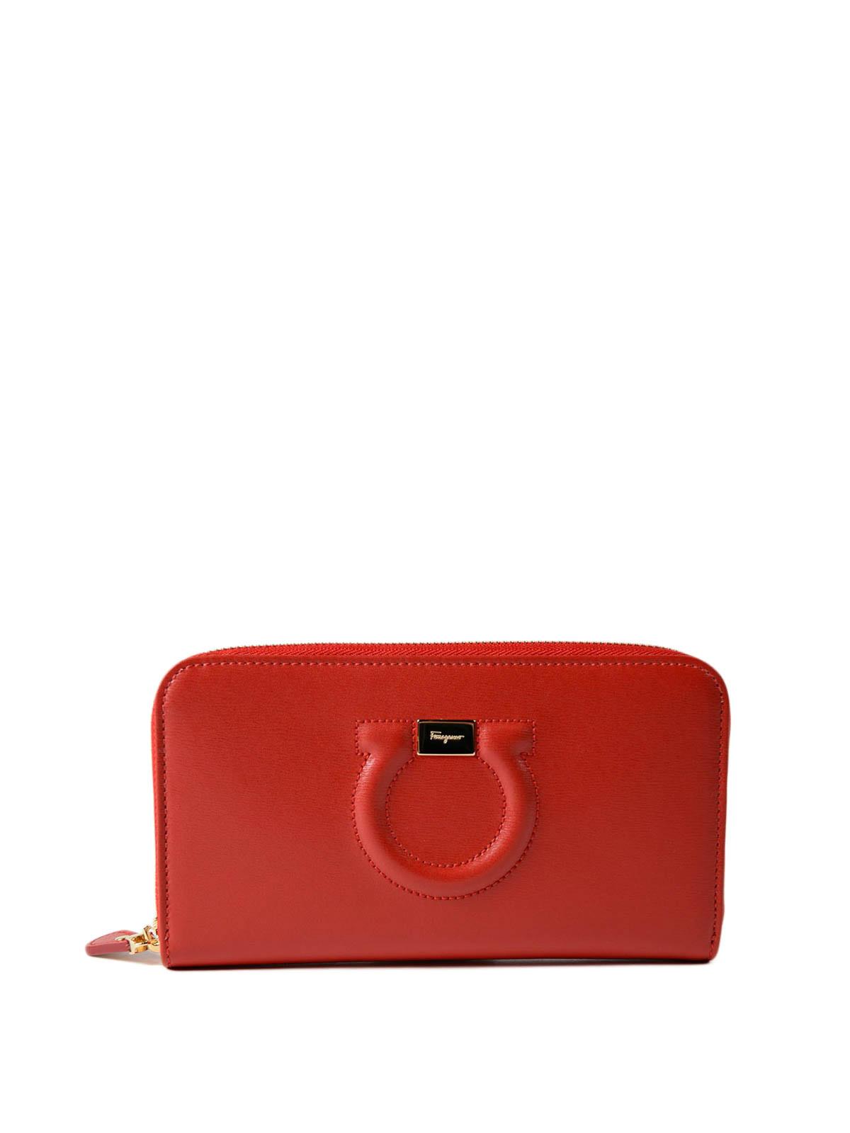 4ef3b7b76e7fe SALVATORE FERRAGAMO  wallets   purses - Gancini leather continental wallet